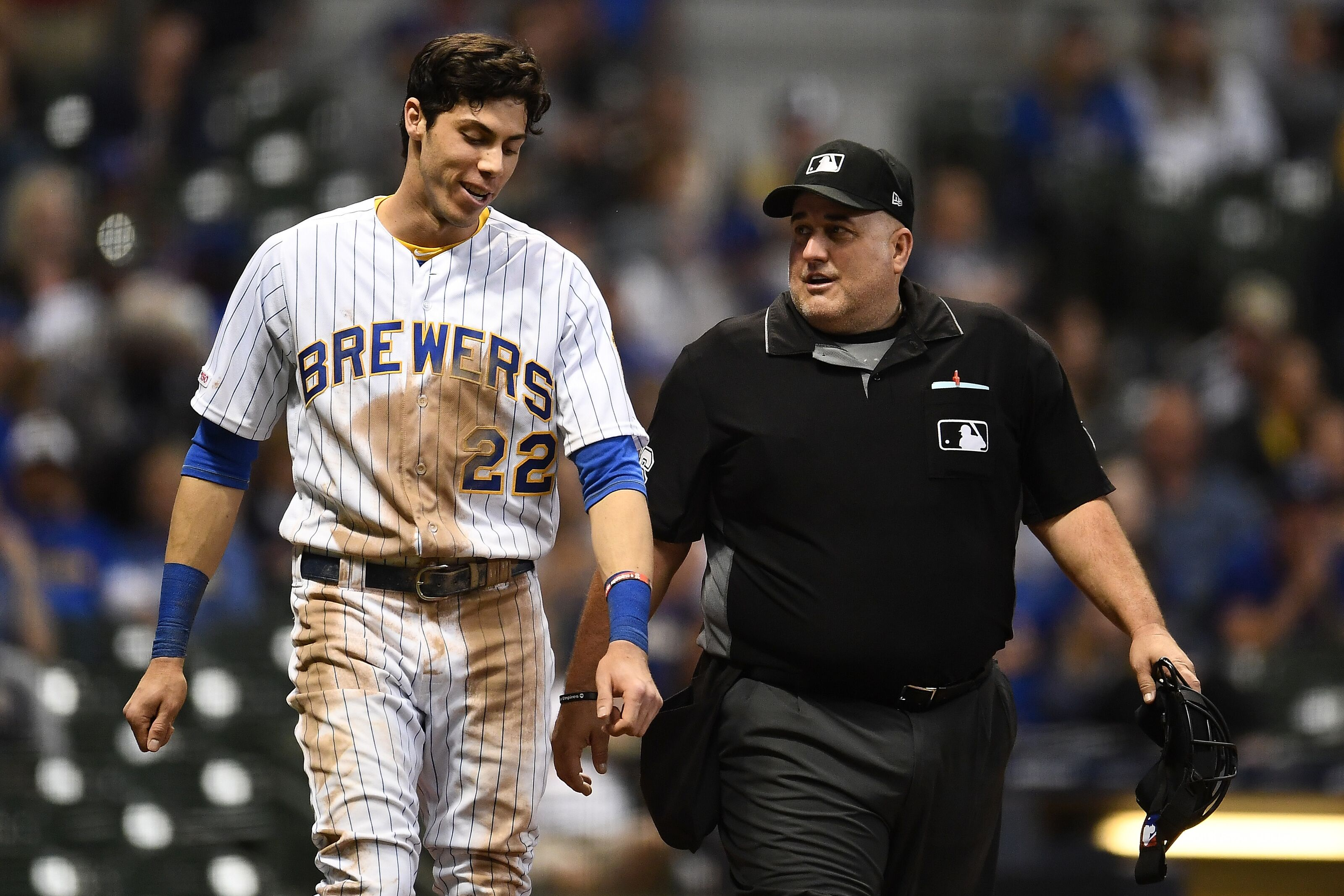 Brewers: Christian Yelich Claps Back at Sign-Stealing Accusations