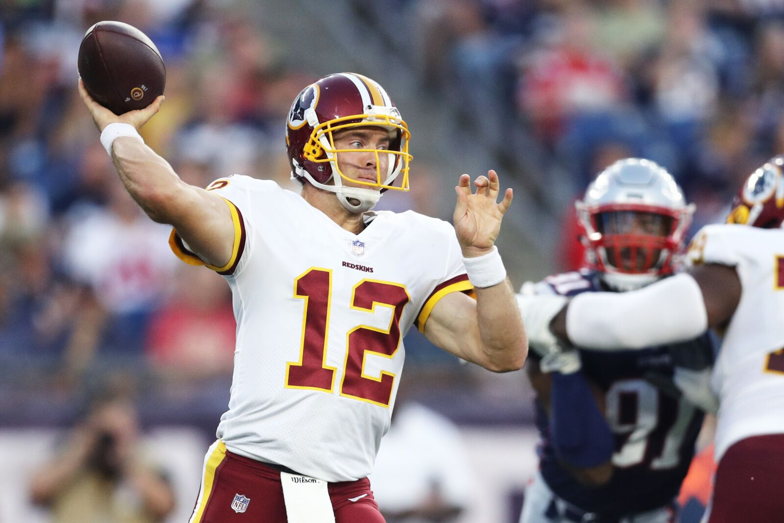 Redskins could look to trade veteran QB to Colts in wake of Andrew Luck's retirement