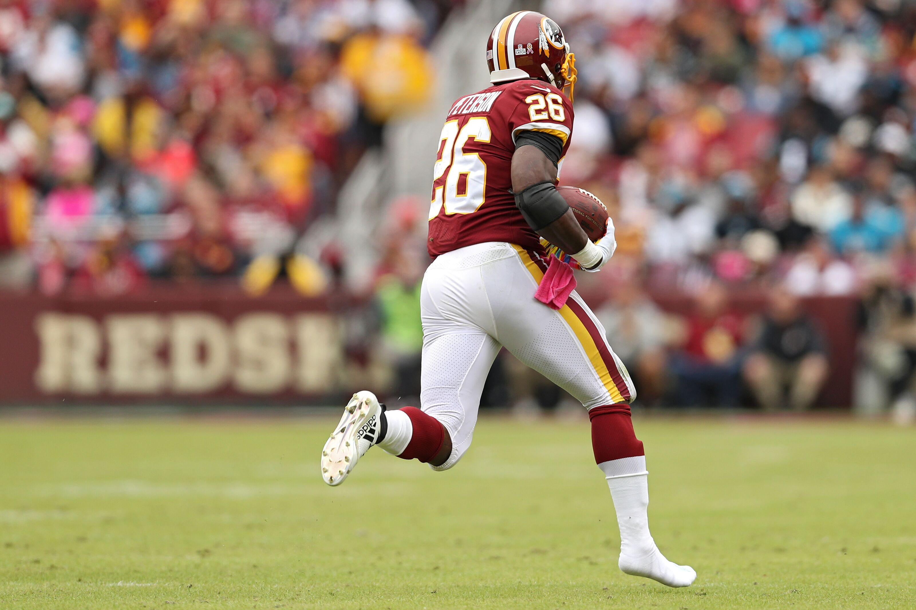 Why the Redskins could keep only three running backs on the roster