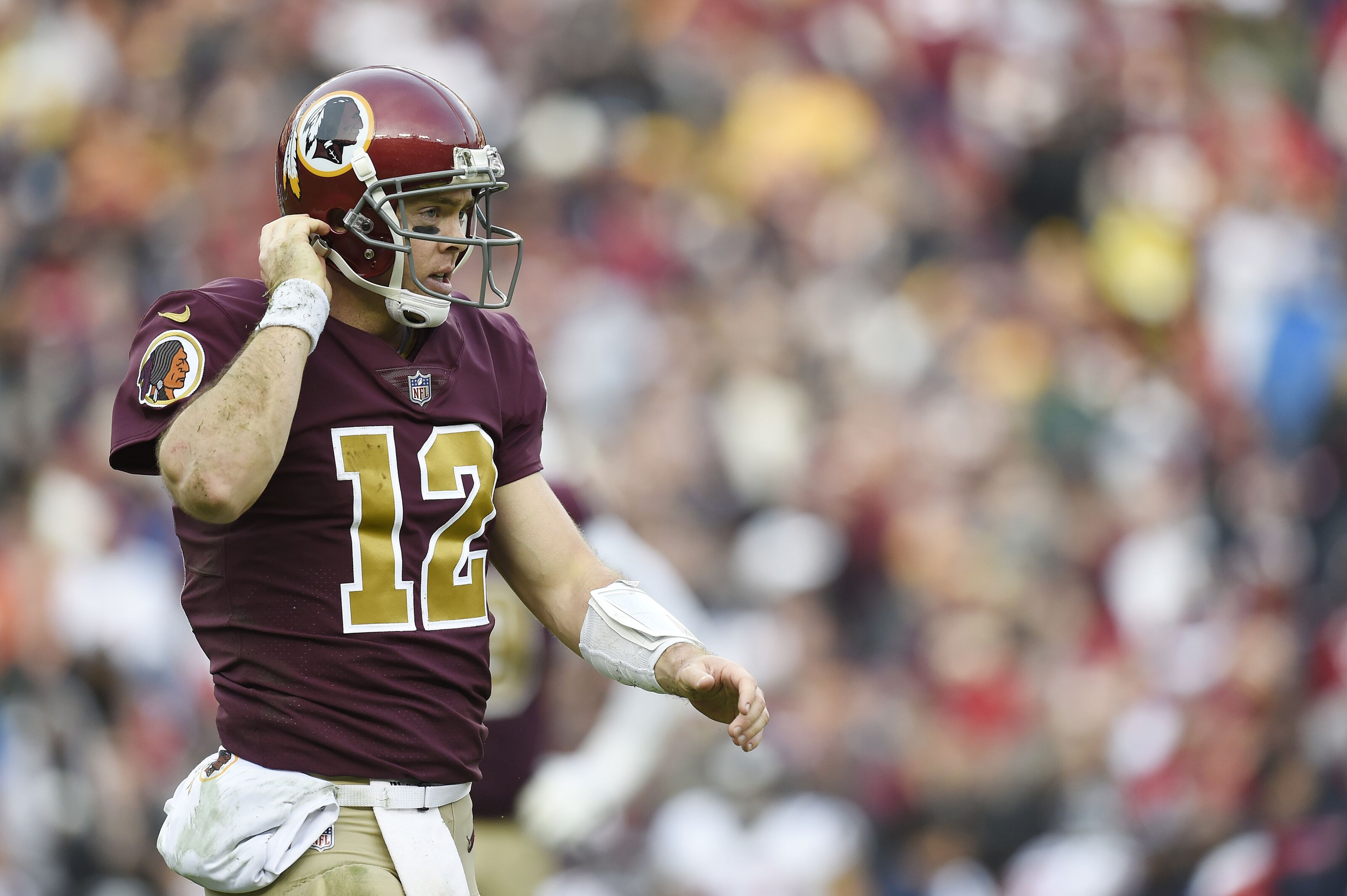 brand new d26a6 35573 Report: Colt McCoy to sit out Redskins' preseason game ...
