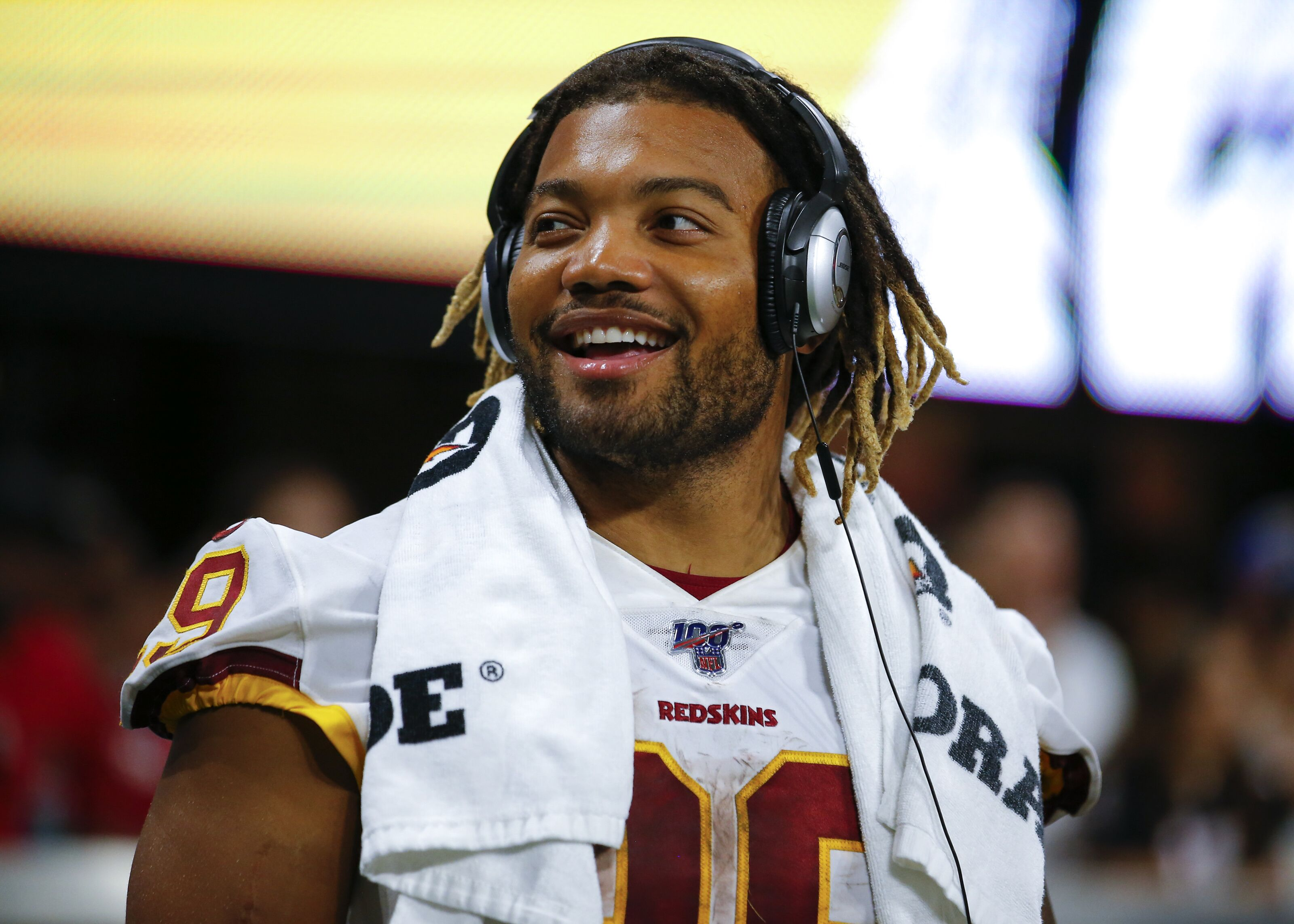 promo code 9e1e8 17267 Reports: Redskins RB Derrius Guice to miss time with a knee ...