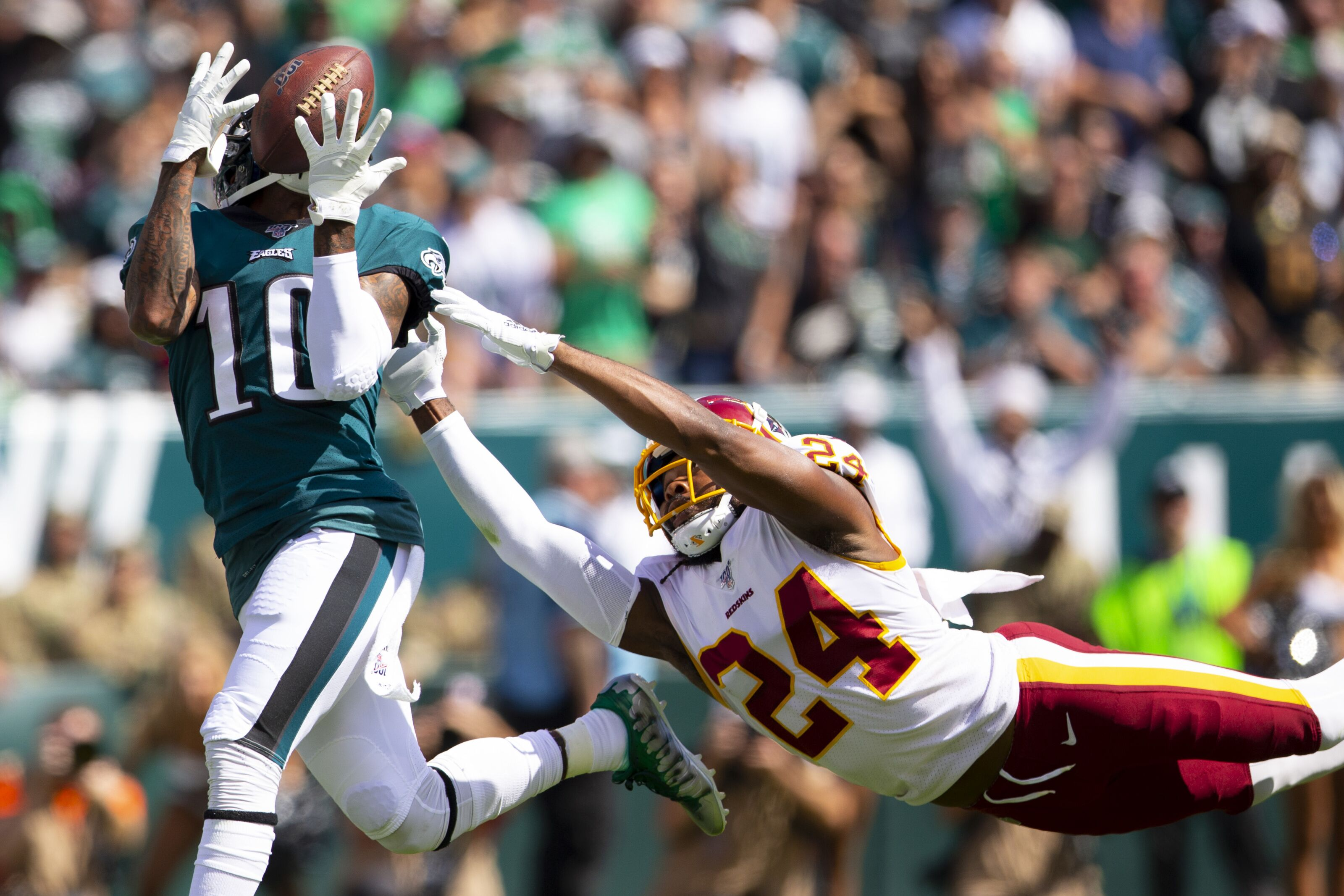 Redskins offense disappears through wormhole in collapse, 27-32 loss