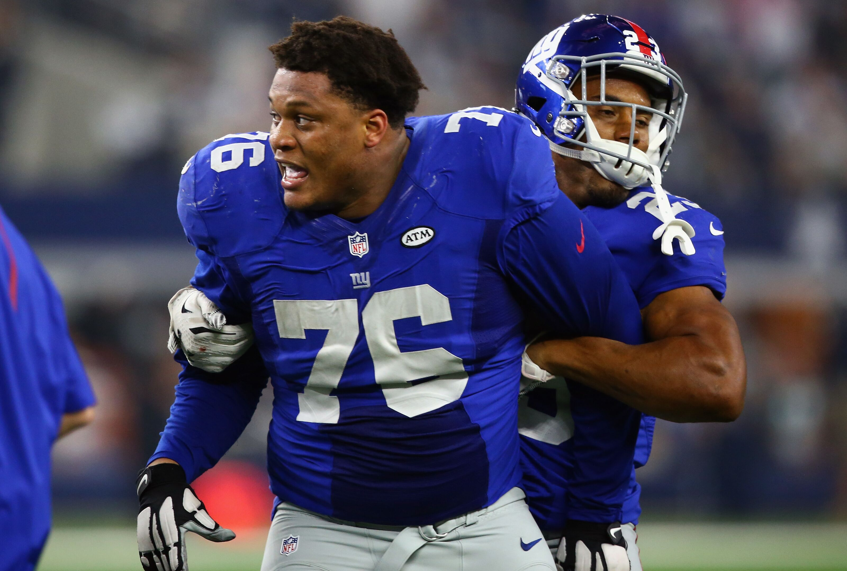 Redskins sign former Jaguars and Giants tackle Ereck Flowers