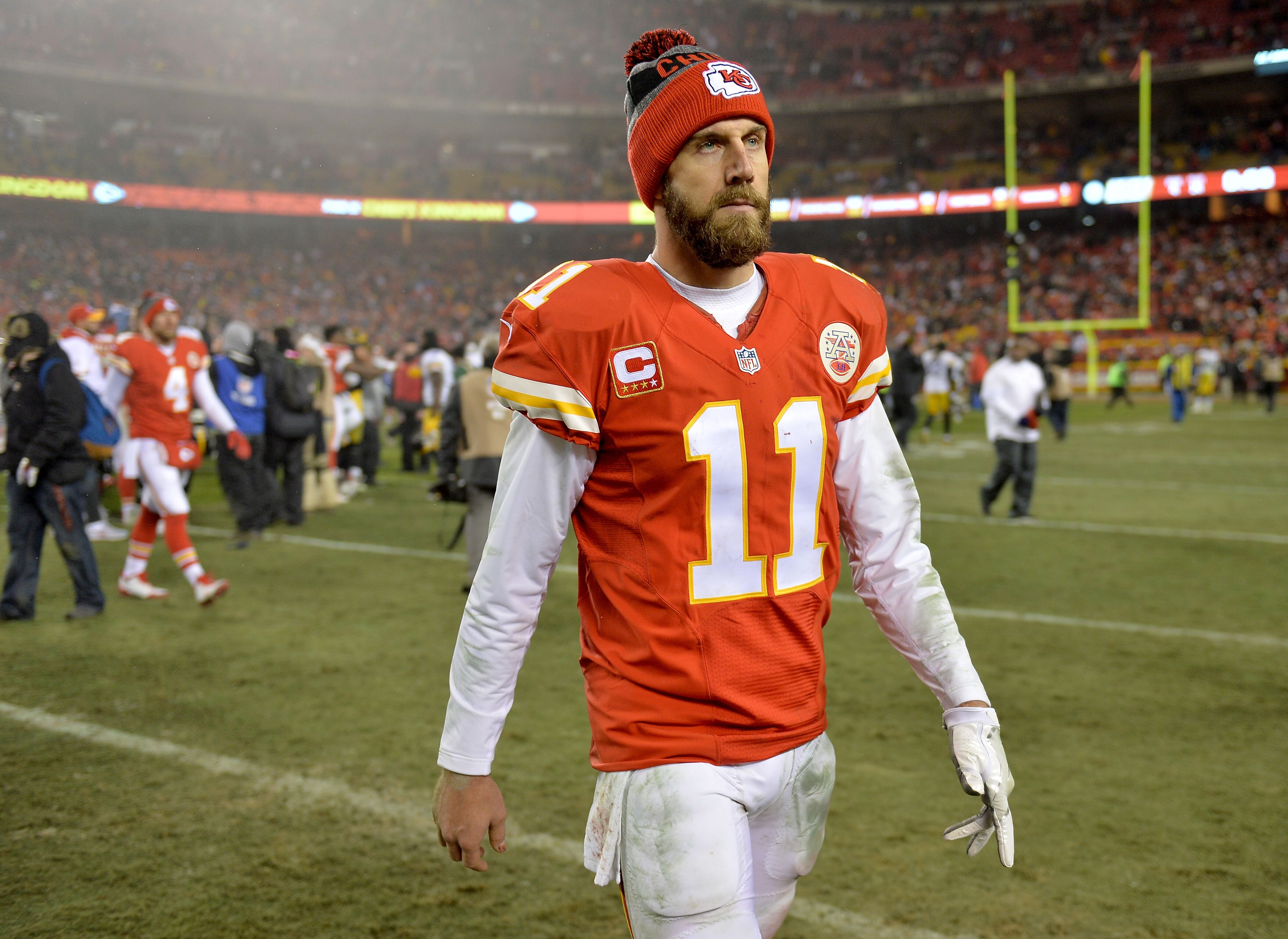Washington Redskins QB Alex Smith will have a chip on his shoulder 0119e0033