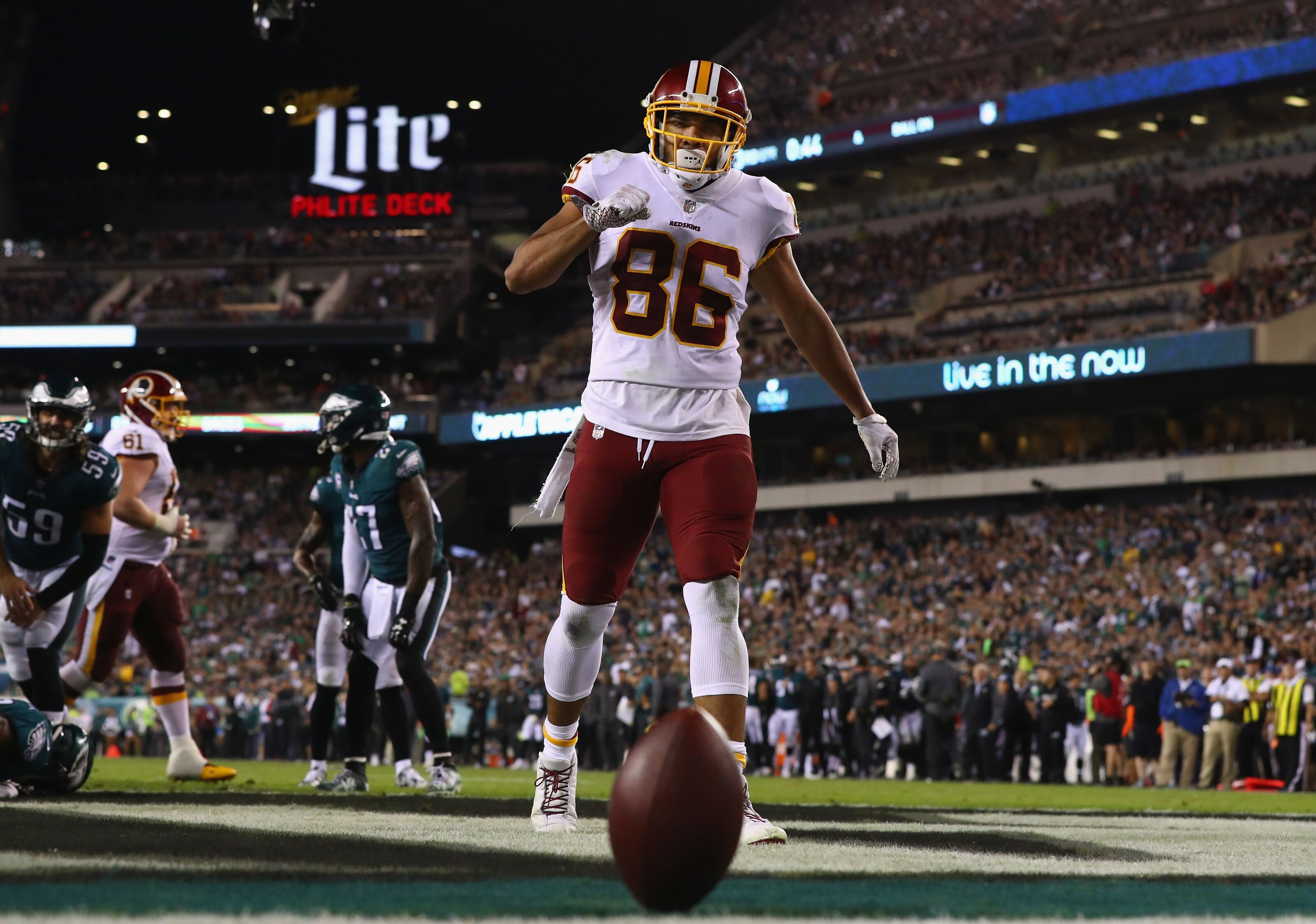 364490a963c Redskins Injury Report:Jordan Reed among eight questionable for Monday