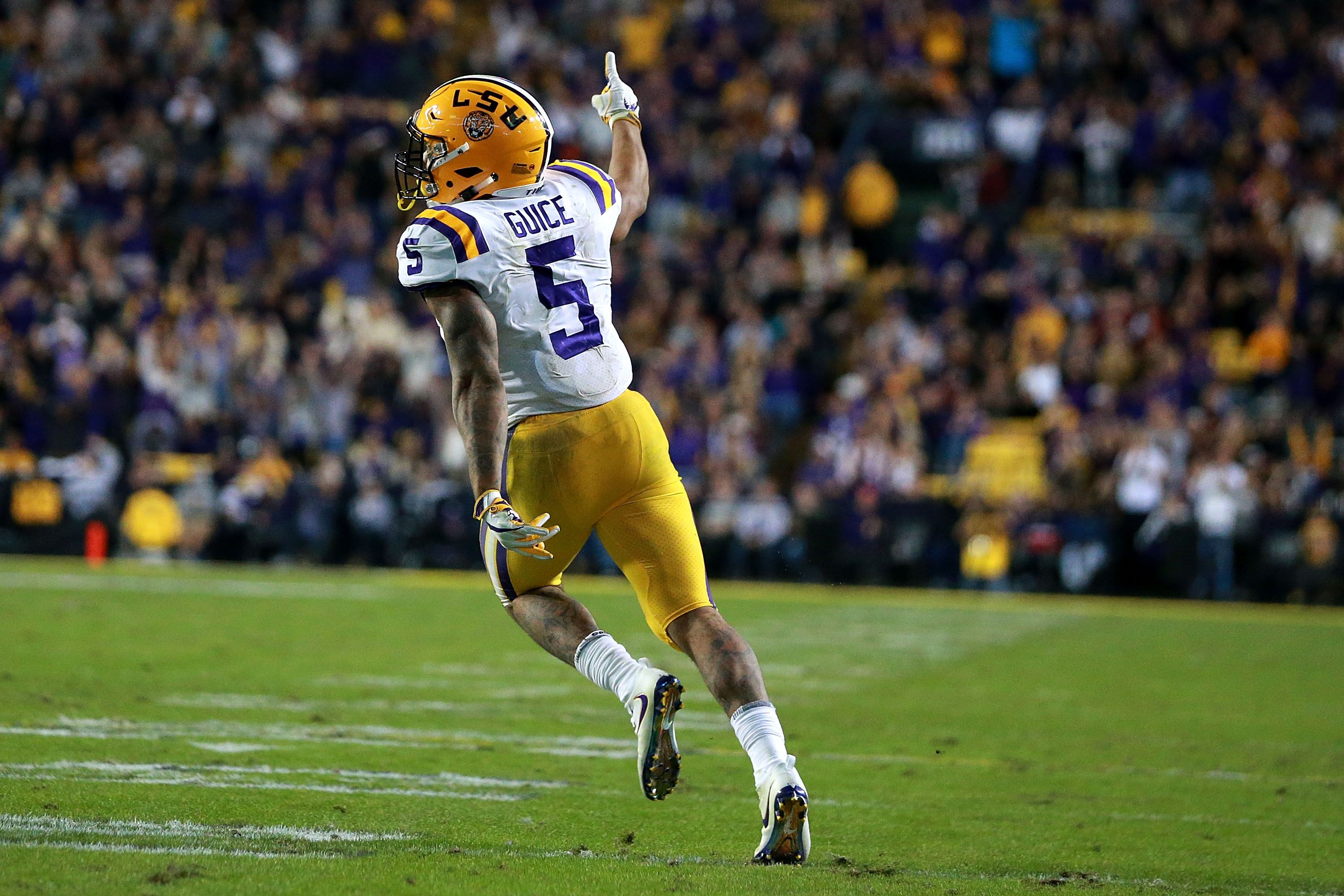 Could Derrius Guice s stock fall after investigation of Combine questions  1c02aae9c