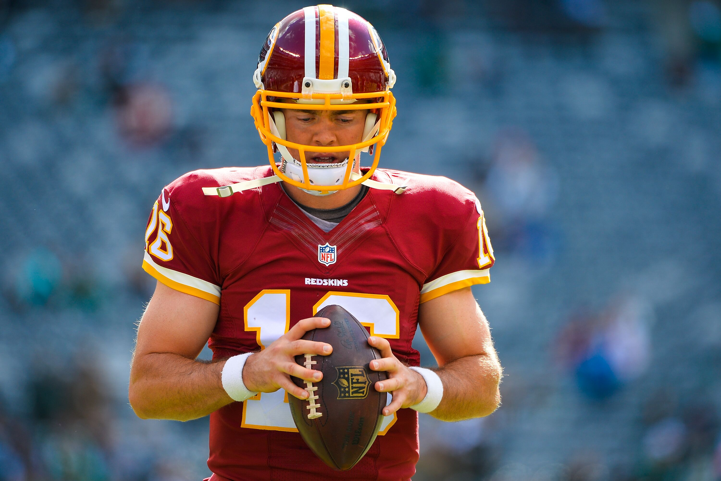 5871e325e Redskins Position Battles: Colt McCoy vs. Kevin Hogan for backup QB