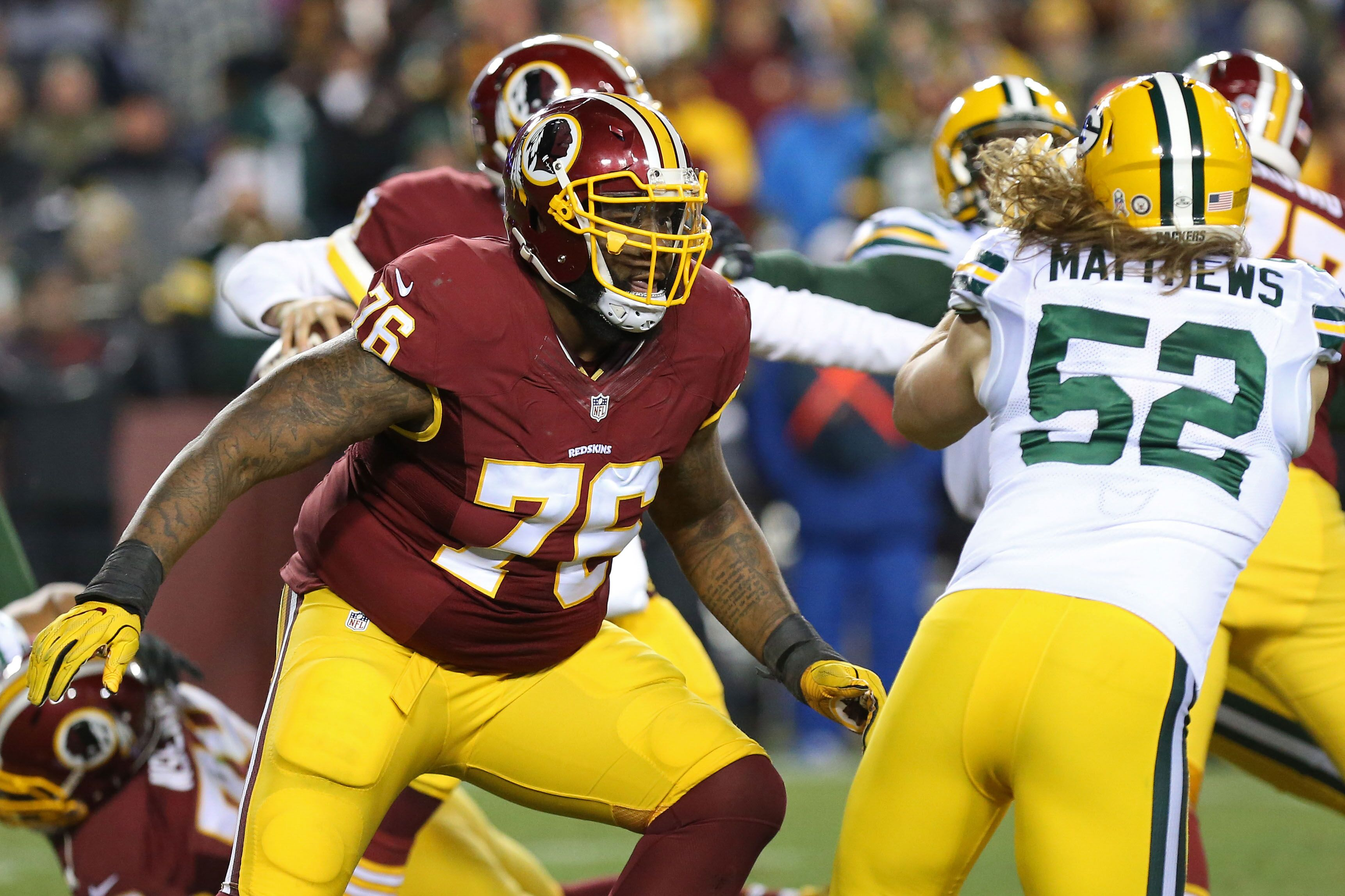 Morgan Moses Signs 5 Year Extension To Remain With Washington Redskins
