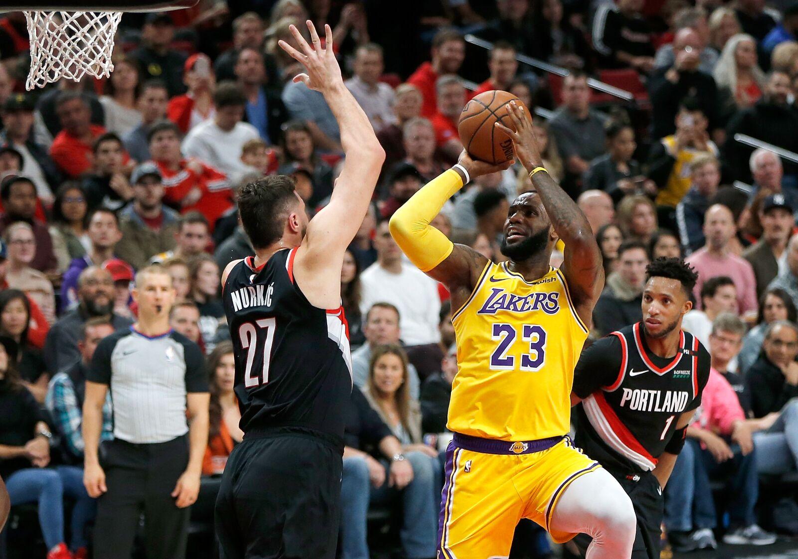 2019-20 Matchup preview: Portland Trail Blazers vs. LA Lakers