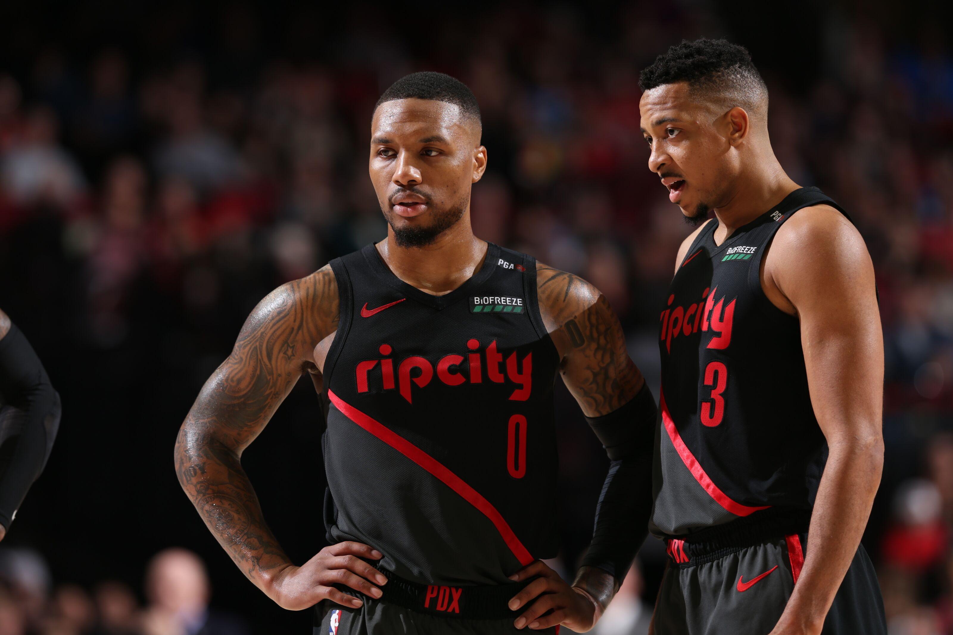 Portland Trail Blazers backcourt receive high ratings in NBA 2K20