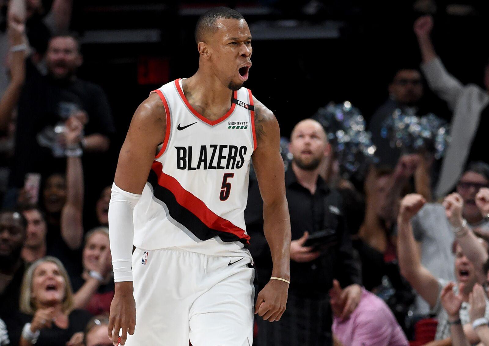 Rodney Hood makes his return to the Portland Trail Blazers