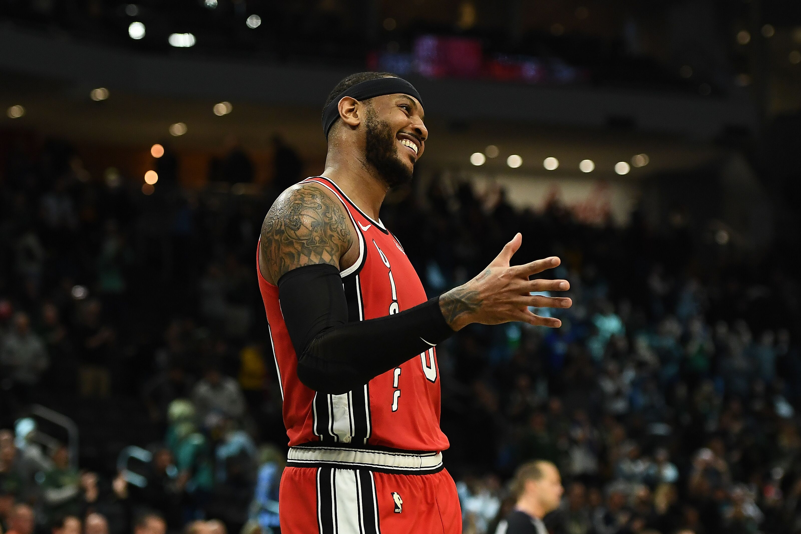 Portland Trail Blazers: Carmelo Anthony moves into 18th place on all-time scoring list