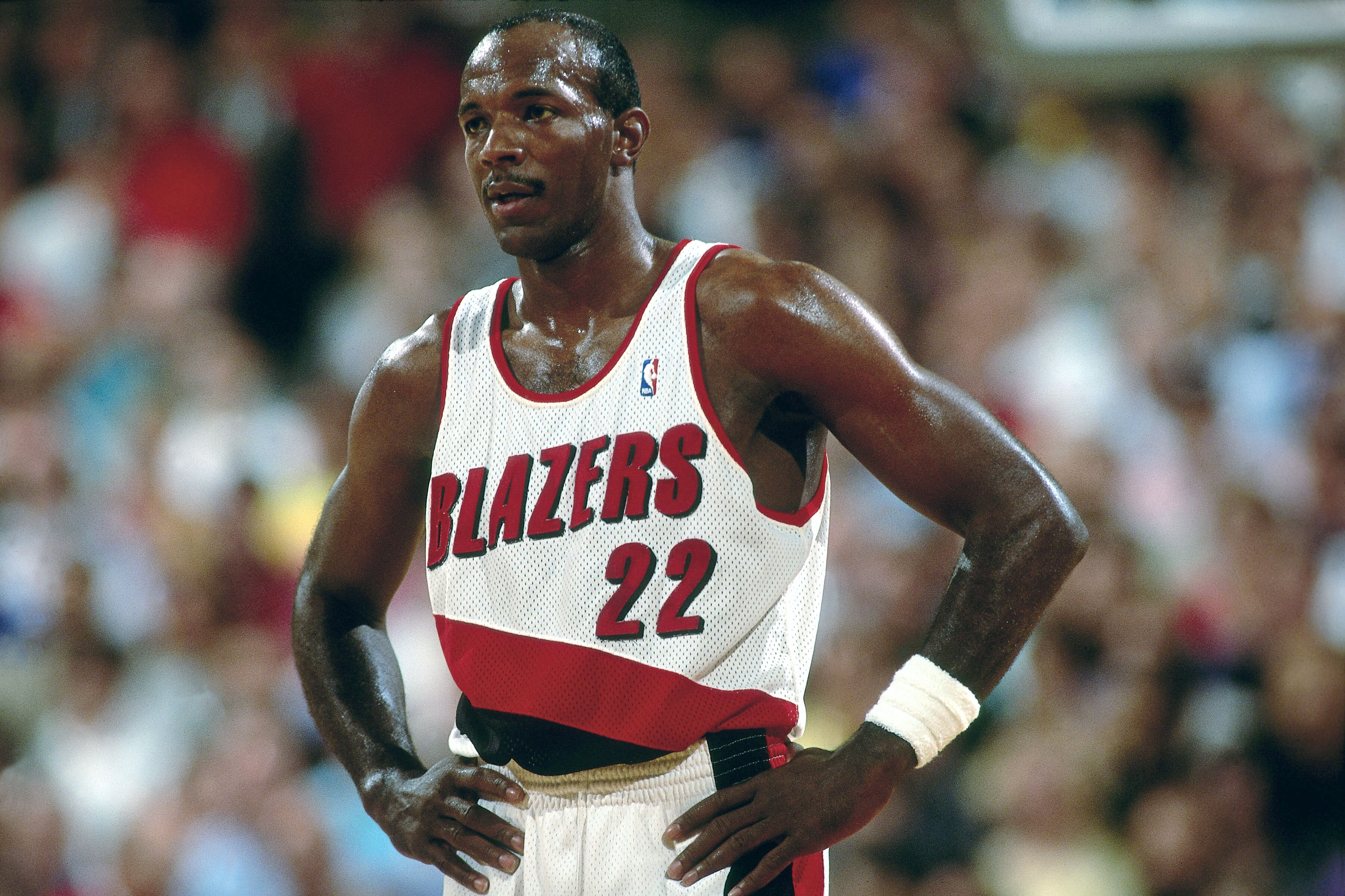 57cb3806549c On this date in 1992  Blazers clinch playoff series versus Lakers in Vegas