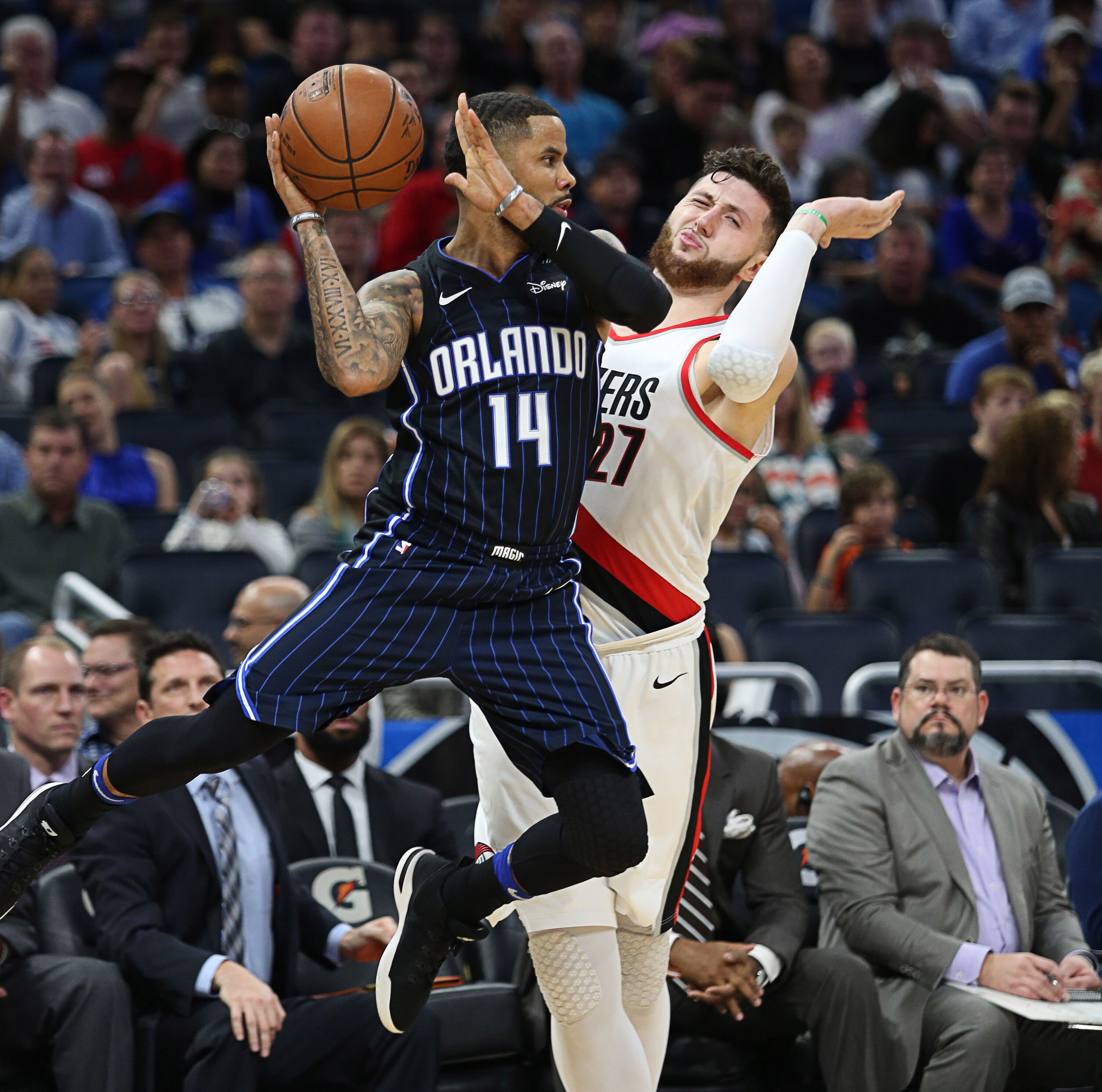 Blazers Win Second In A Row, Beat The Orlando Magic 95-88