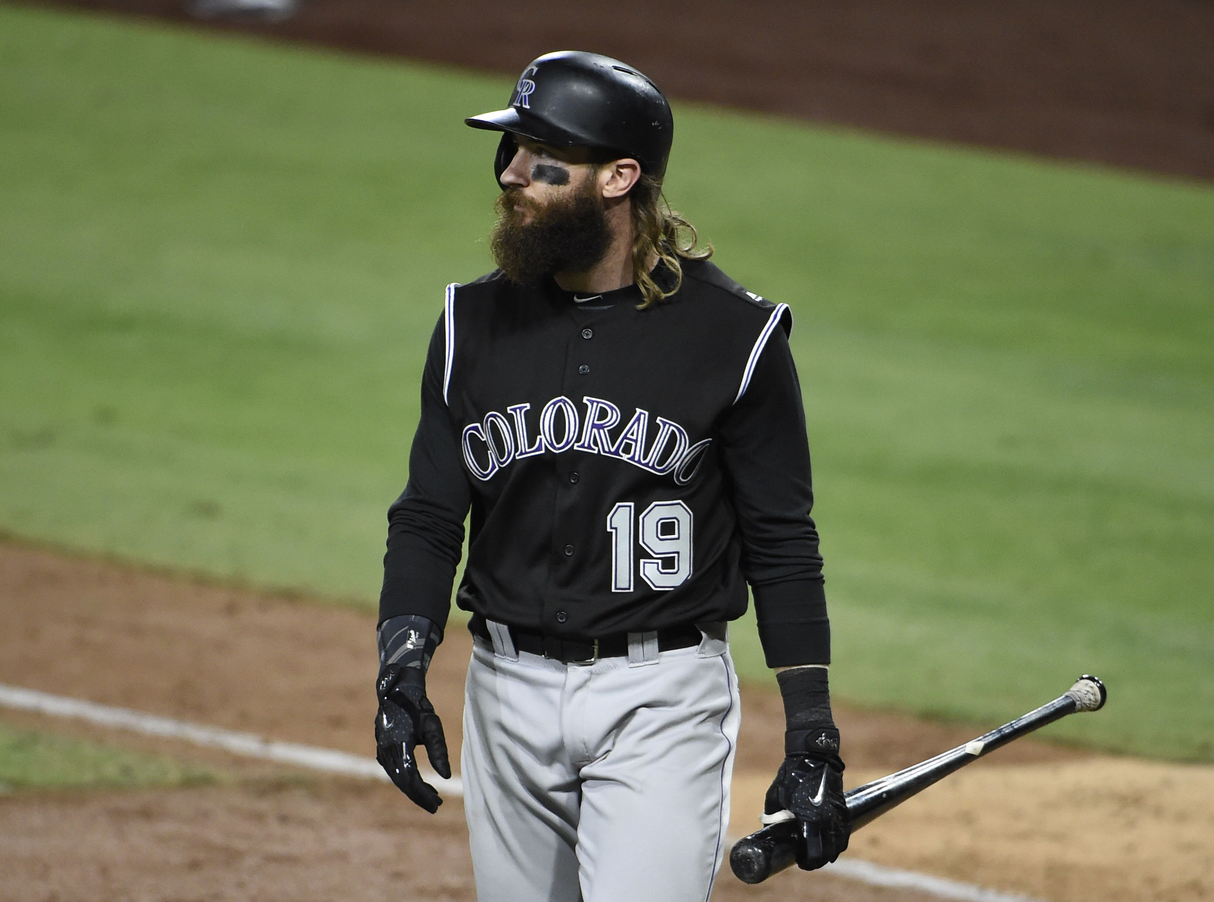 Colorado Rockies Charlie Blackmon Discusses The Wild Card Game