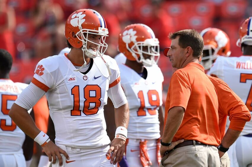 Dabo Swinney: Cole Stoudt Still Clemson Tigers' Starting QB