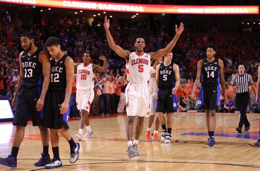 Clemson Basketball Still Undefeated in 2016, Upsets Duke