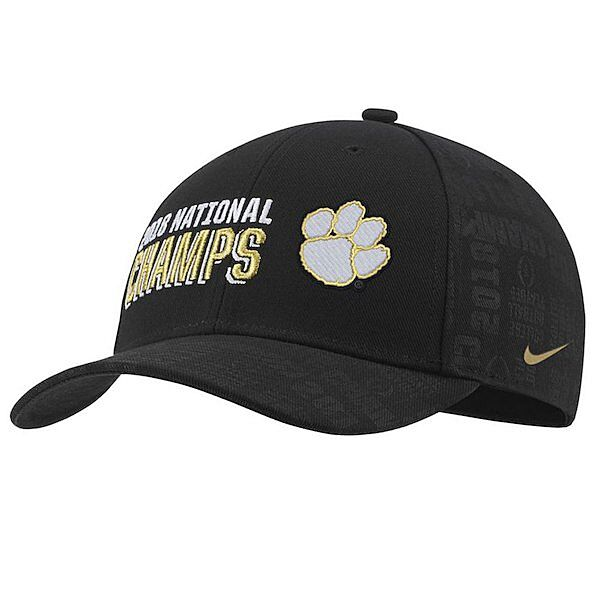 finest selection 3cfad c8740 Men s Nike Clemson Tigers National Champs Locker Room Hat –  31.99