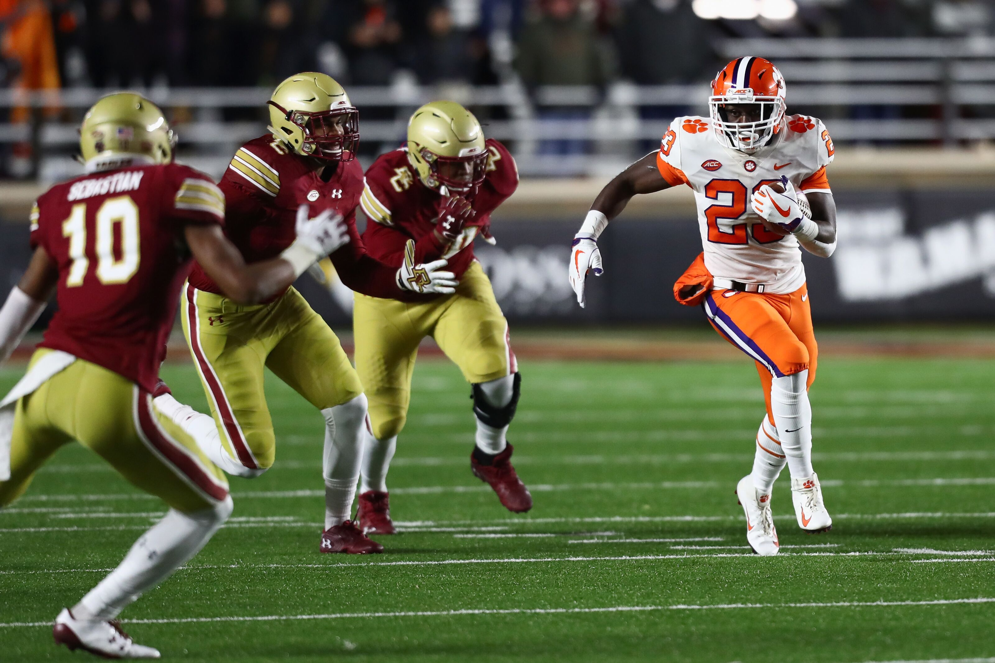 Clemson vs. Boston College: Game Announcers, TV Info, Radio, Odds, More