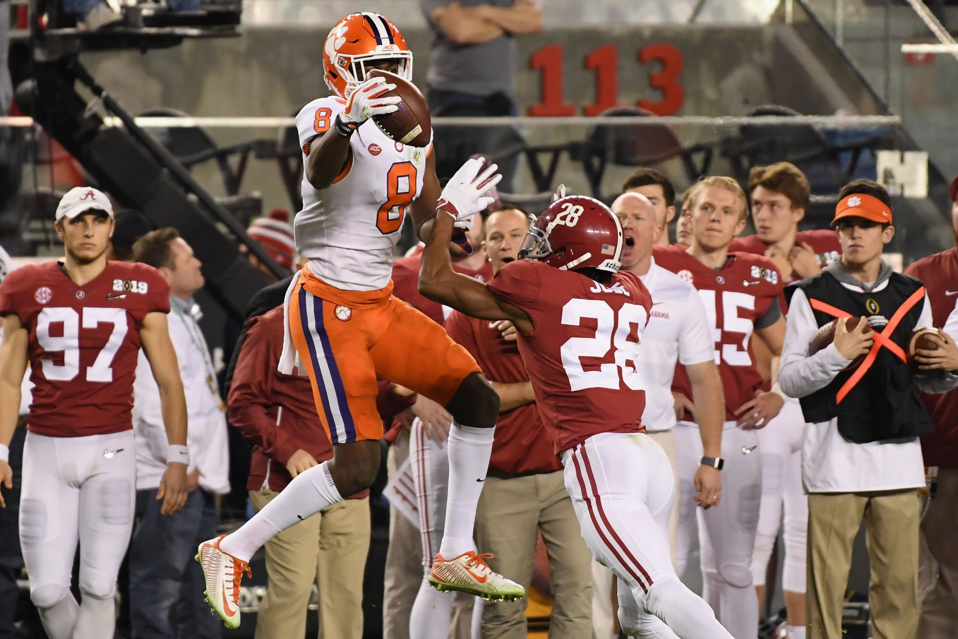 Clemson Football: Justyn Ross ranked No. 2 wide receiver ...