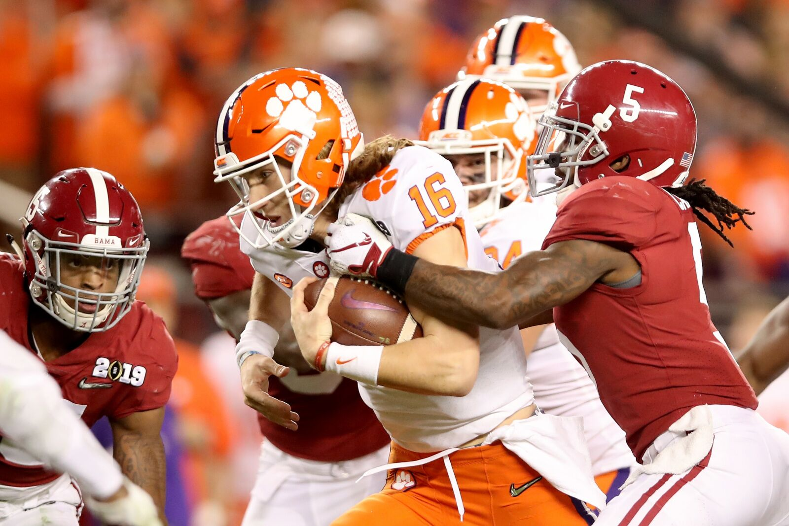 Clemson Football Early Projected Offensive Depth Chart For 2019 Season