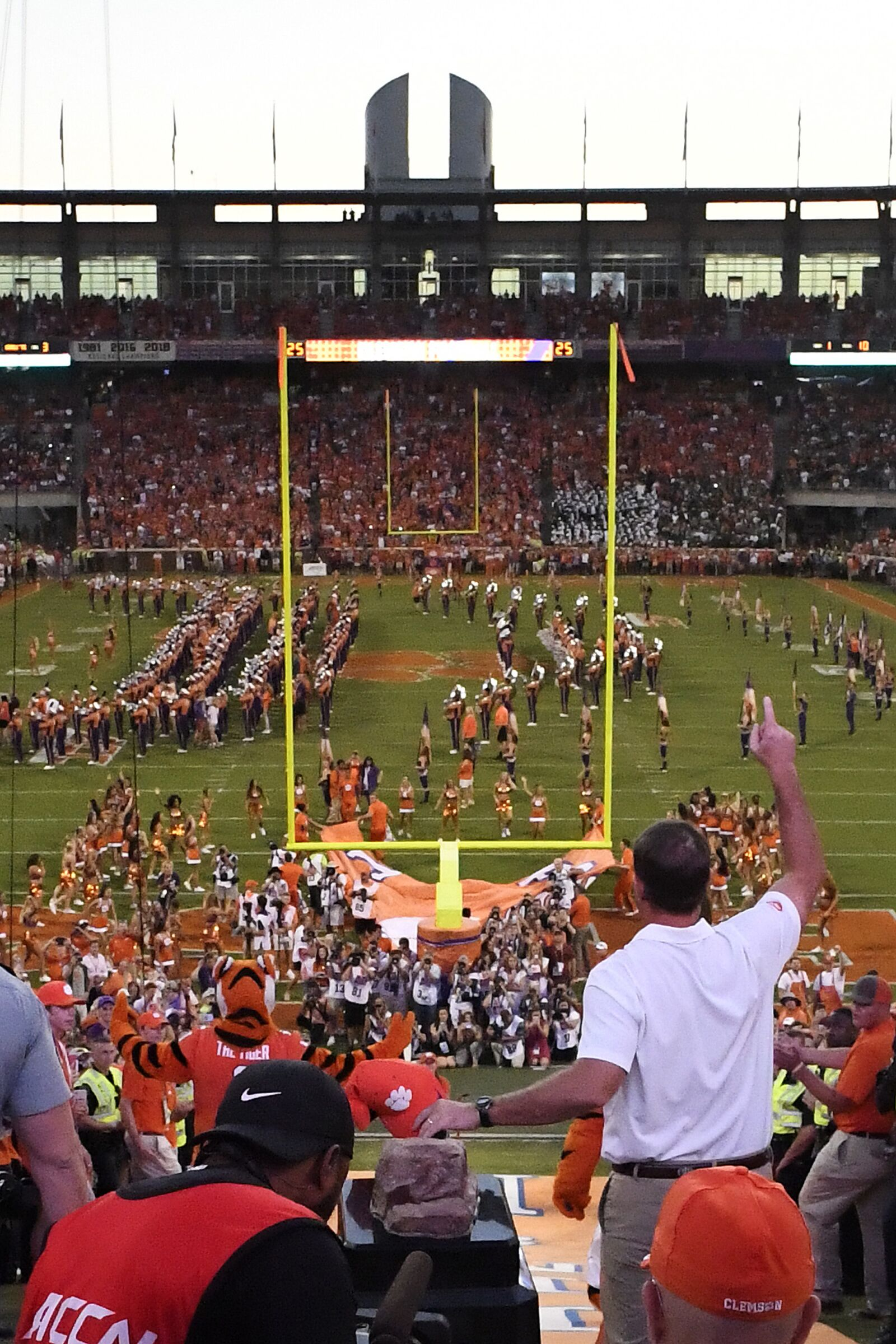 Clemson Football: Tiger fans killed it during Disney movie filming