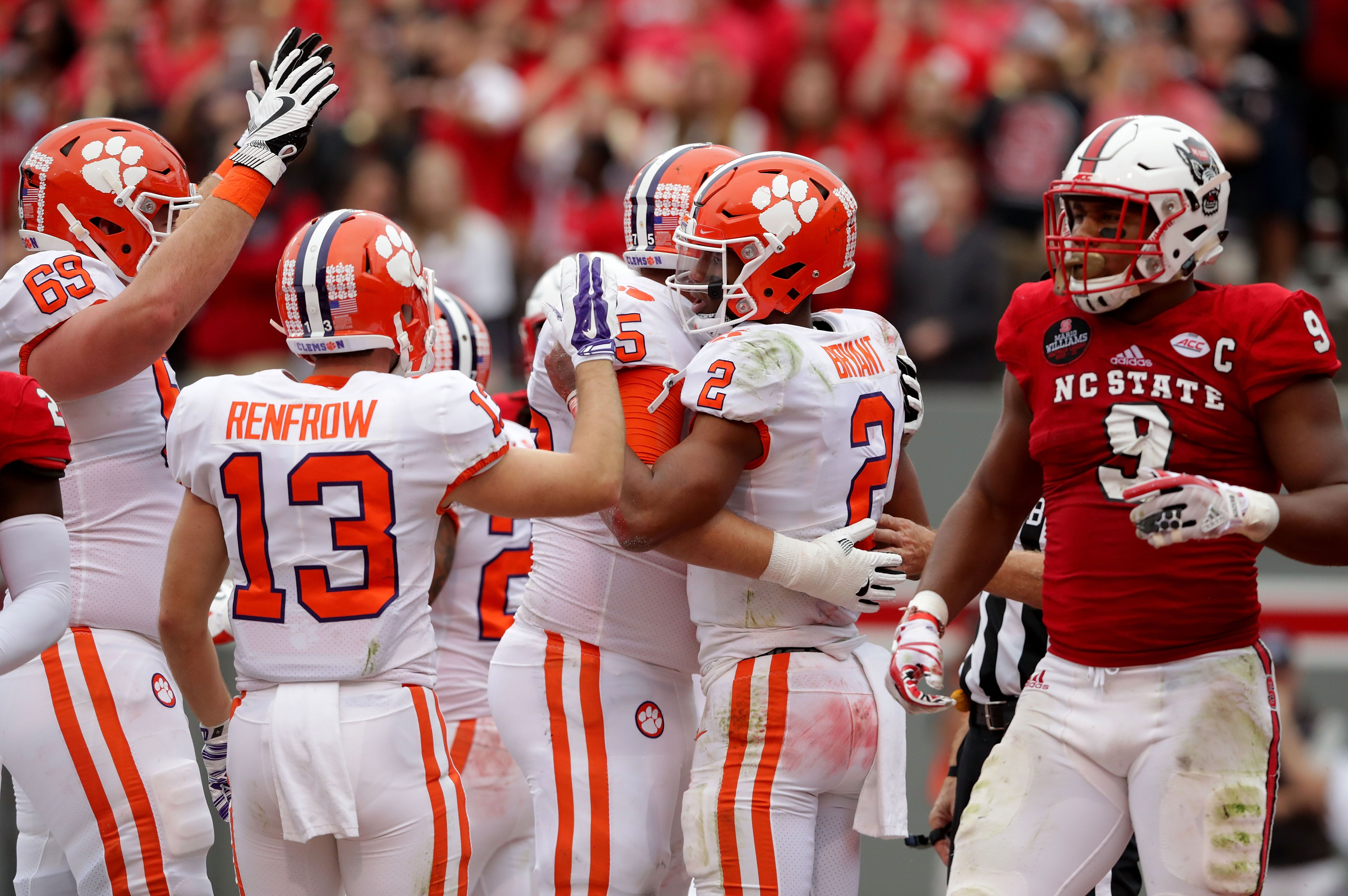 Clemson Football: NC State players and Tiger fans have a little fun