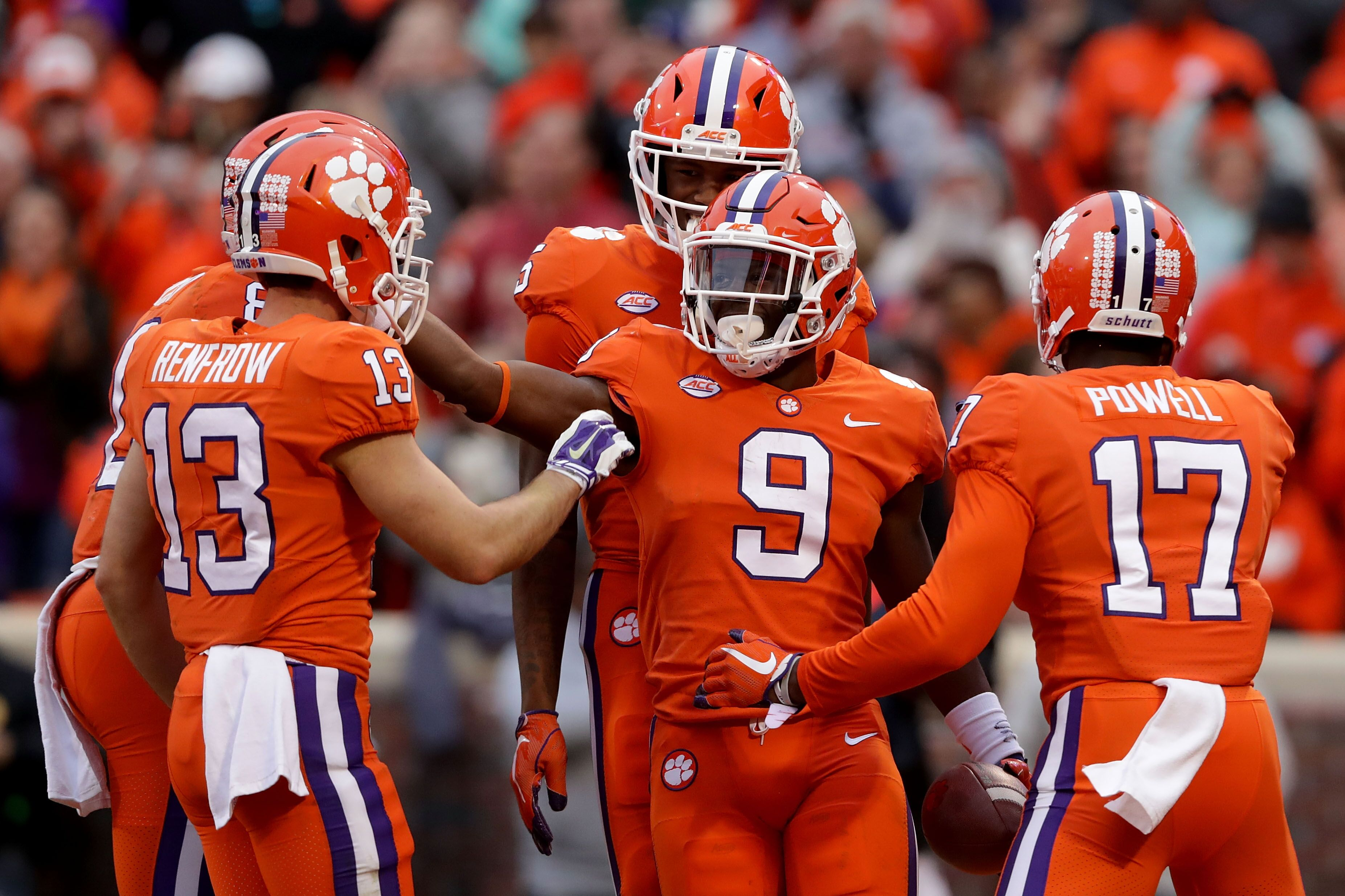 clemson football tiger backfield ranked one top 10 in the nation