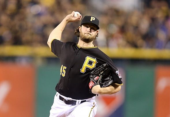 Gerrit Cole Pirates Playoffs 2015 Pittsburgh...