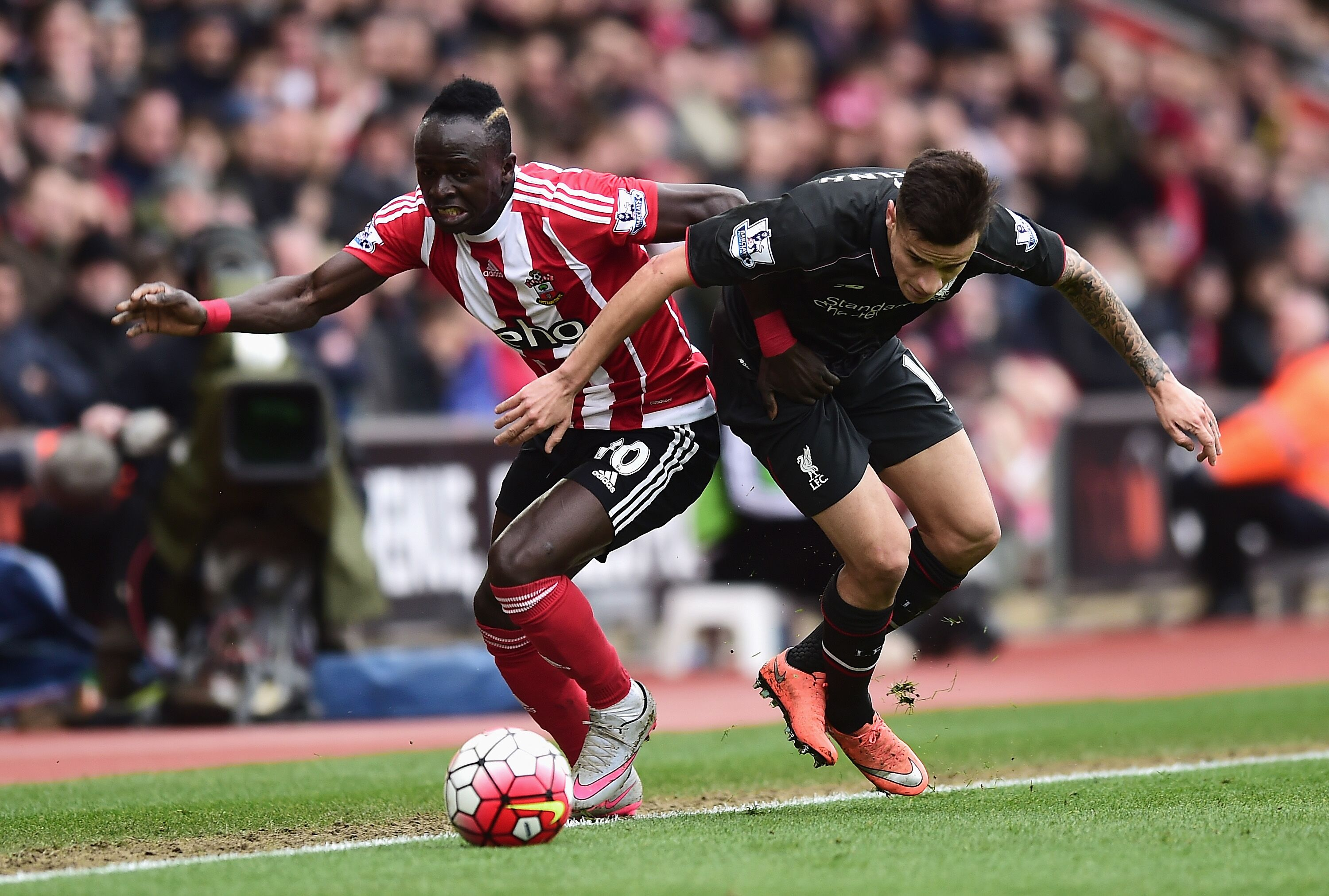 southampton vs liverpool - HD 1600×900