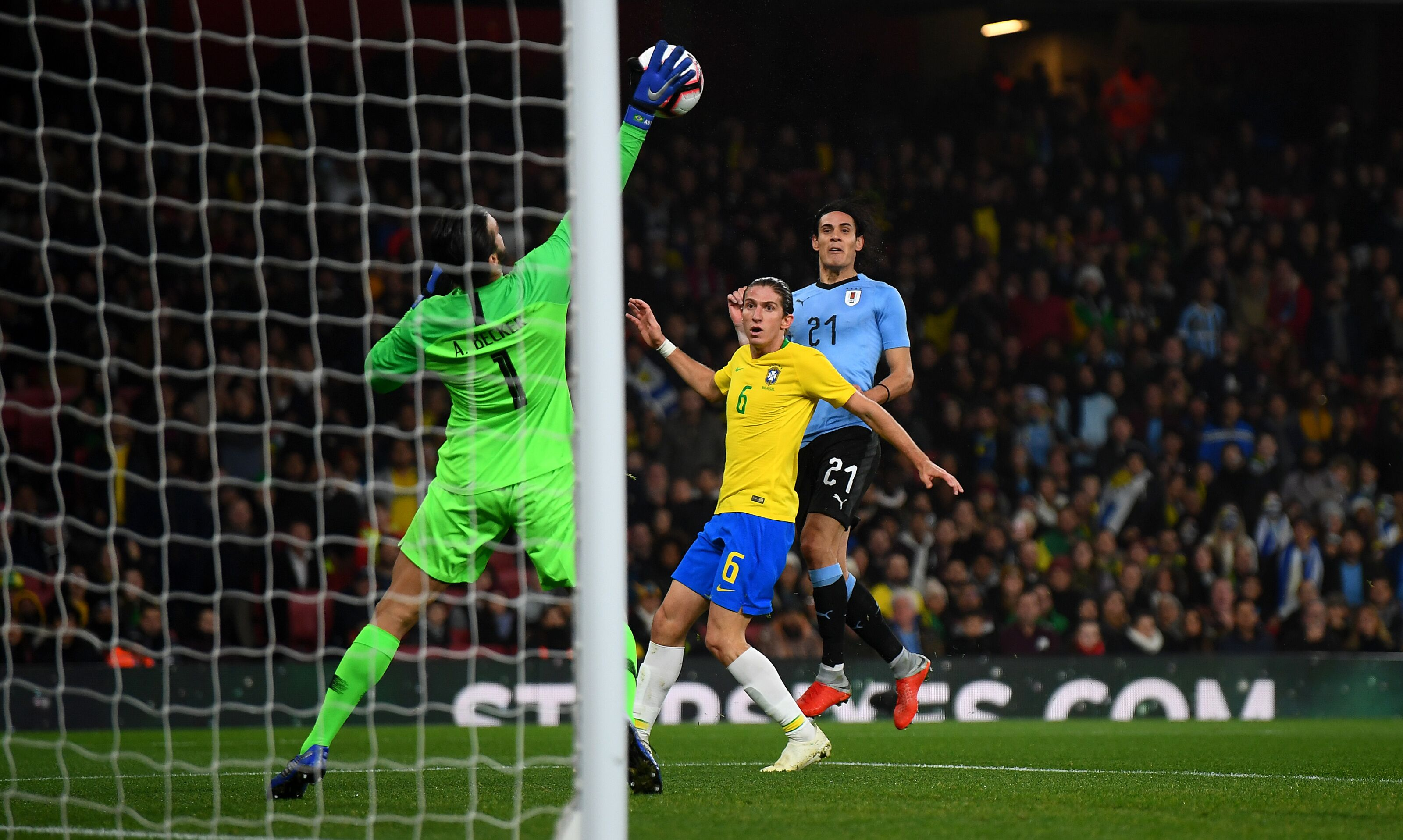 Liverpool: Alisson Becker Double Save For Brazil Has Fans Rapt