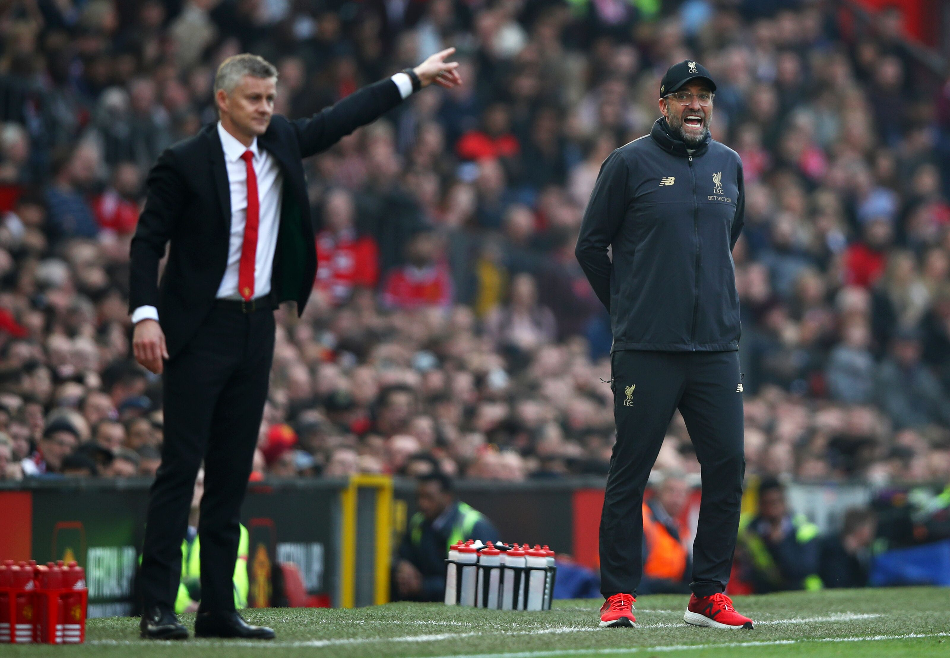 Liverpool: Sky Sports hilarious comparison between Klopp and Solskjaer