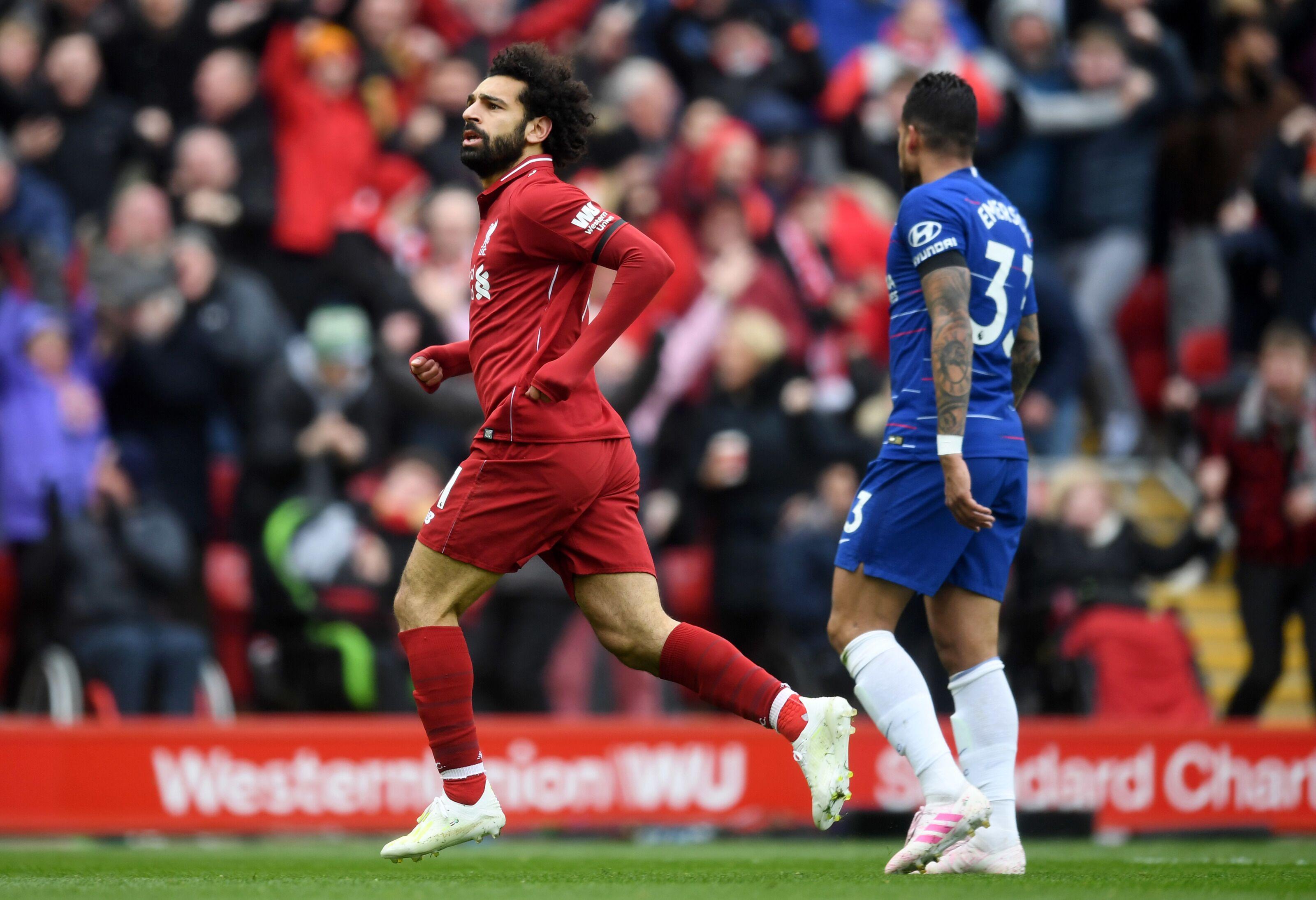 Liverpool 2-0 Chelsea: Alan Partridge commentary makes Mohamed Salah goal even better