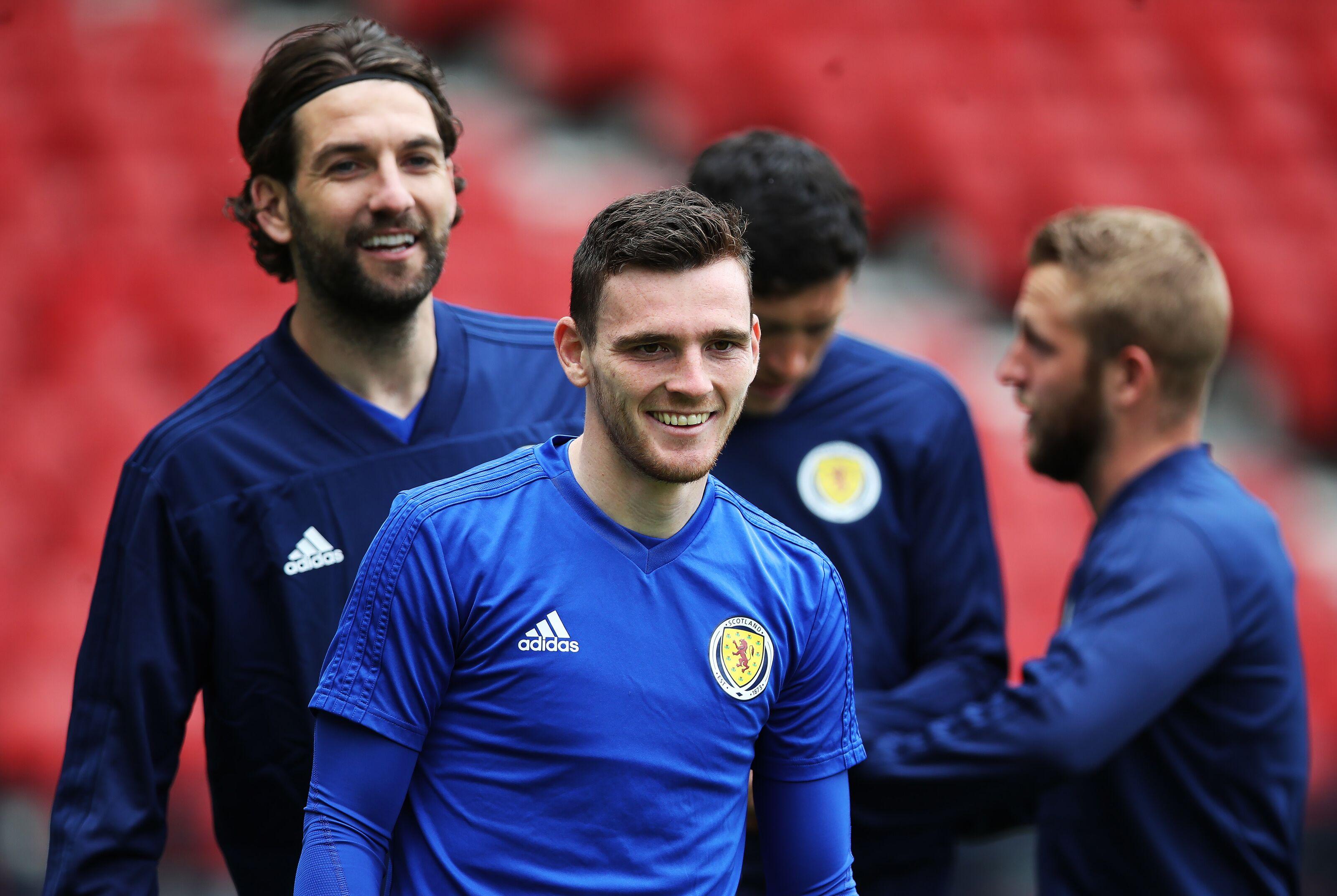 Andy Robertson destroys fake transfer rumour