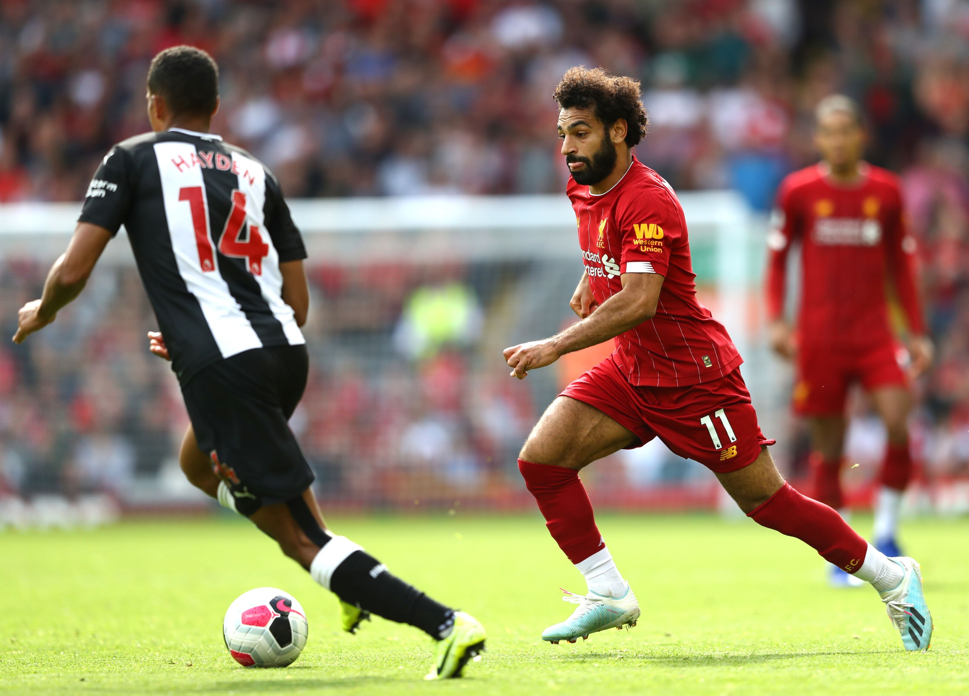 Liverpool 3-1 Newcastle: Shelvey sent to naughty corner by Salah