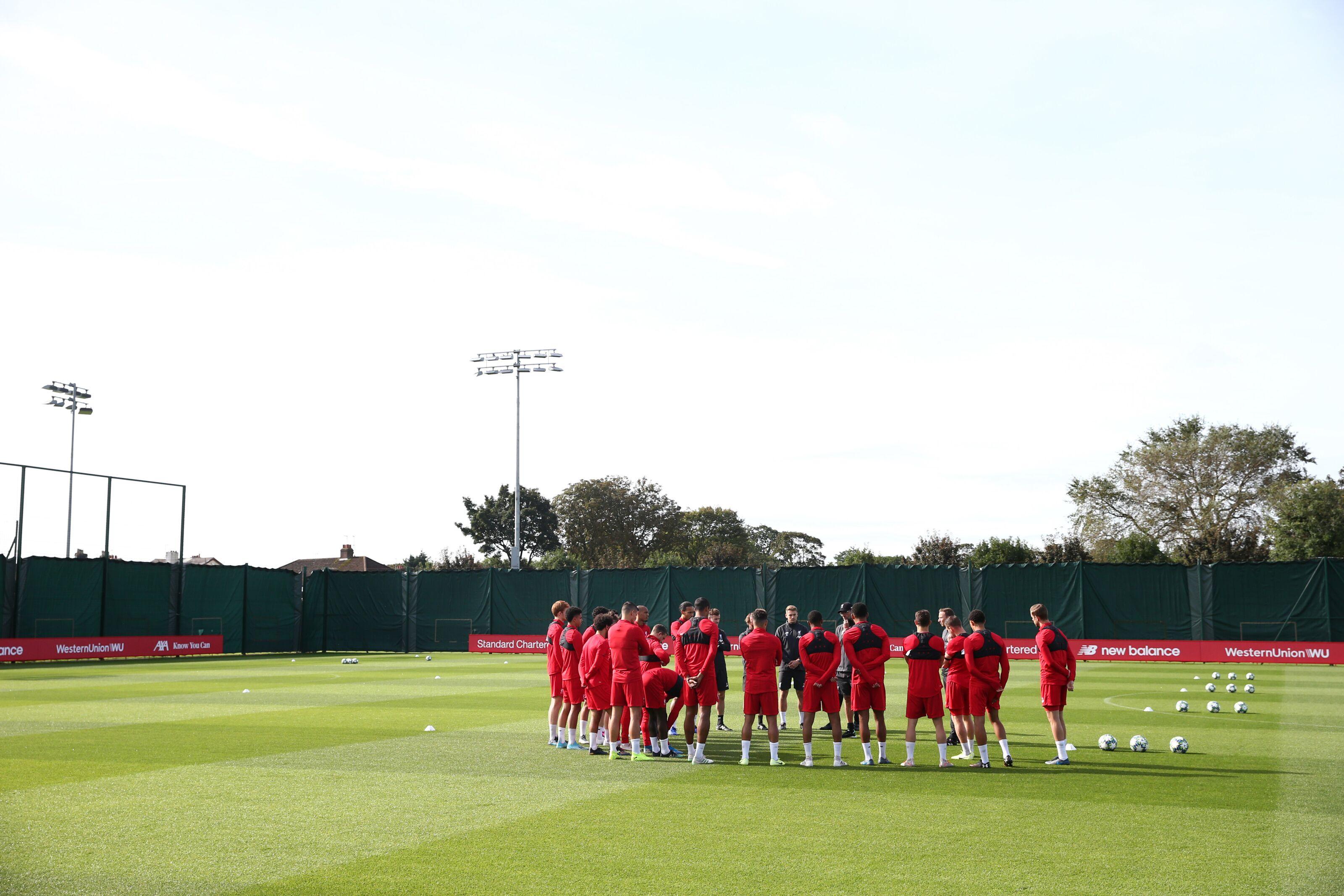 Liverpool vs Man Utd: Maximum disrespect? Training drill has Twitter cussing