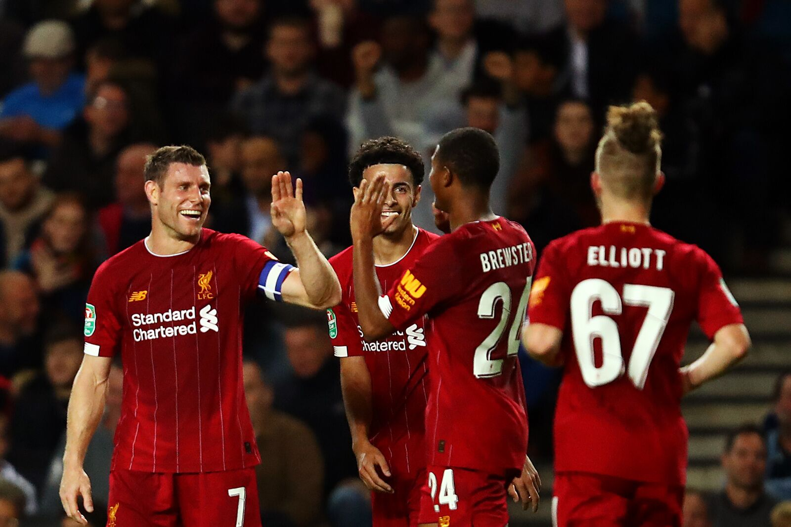 Liverpool: Harvey Elliott overtakes Rhian Brewster in attack pecking order
