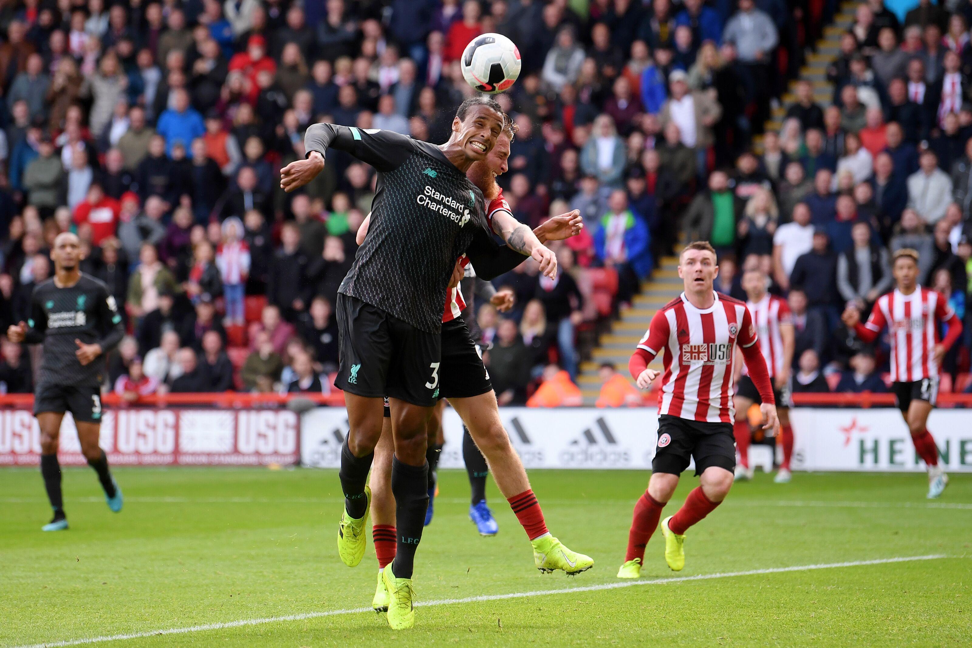 Liverpool vs Man Utd: Refreshed Joel Matip will stop stuttering Juan Mata