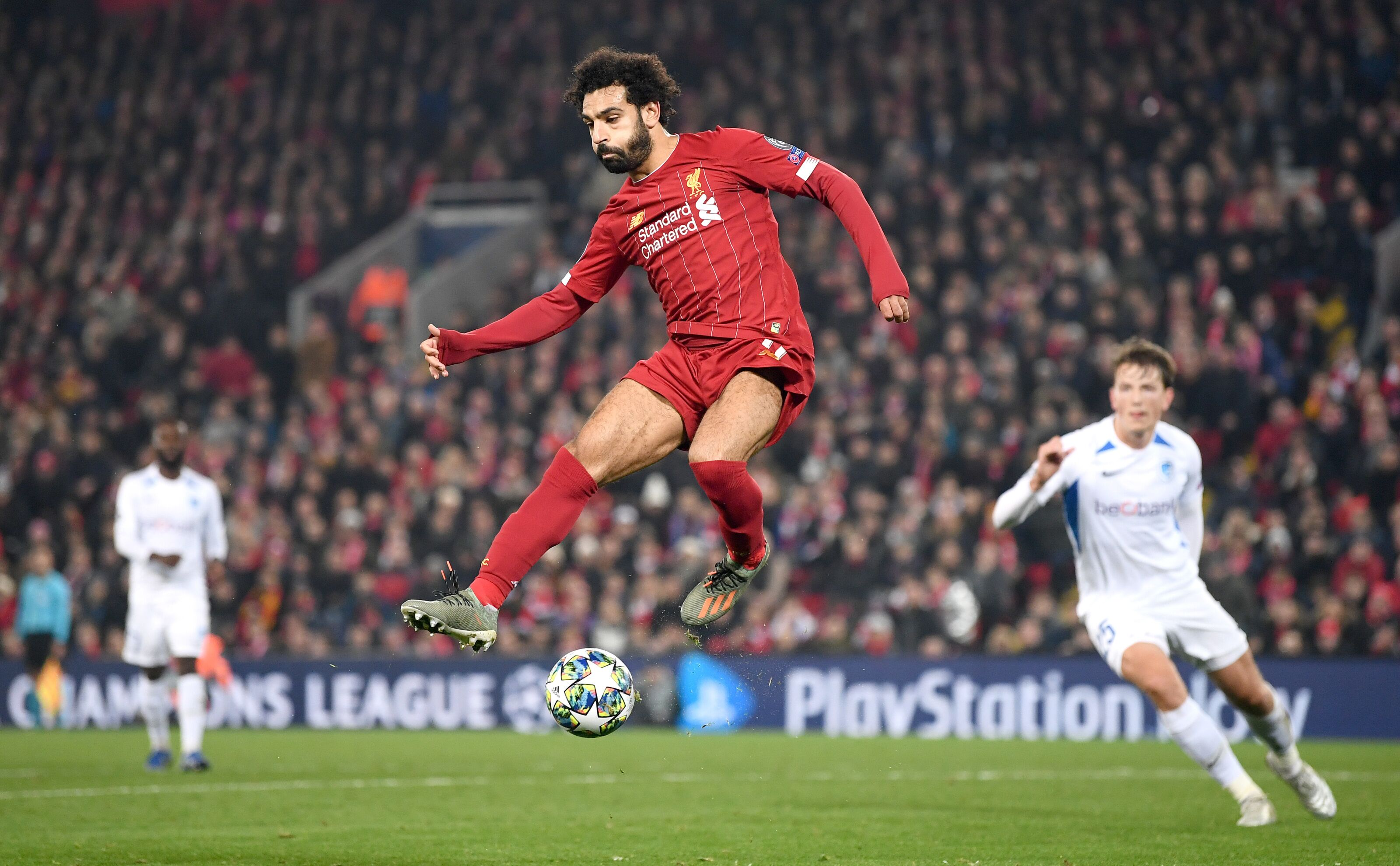 Liverpool news: Mohamed Salah shares Anfield happiness and quashes transfer rumors