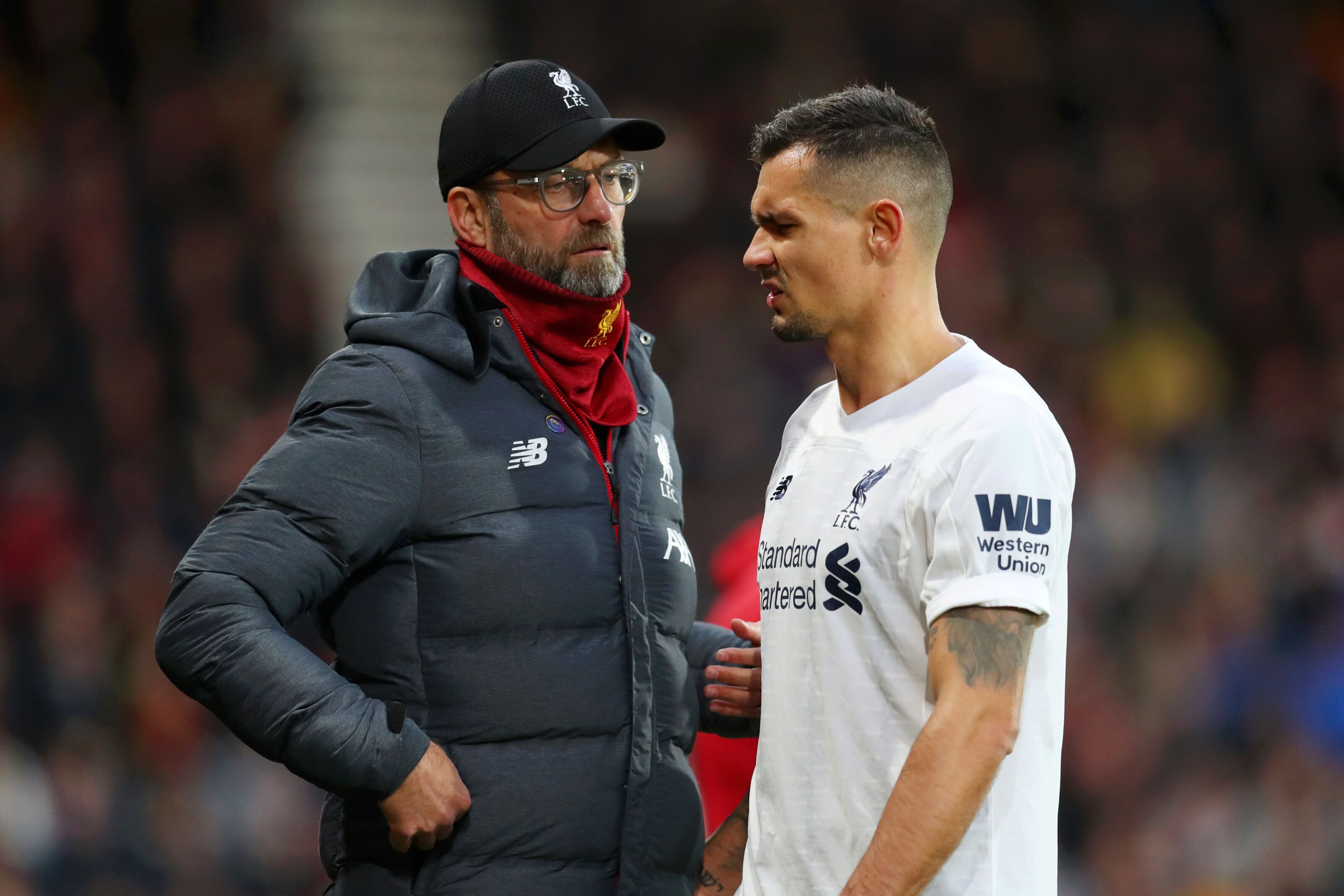 Liverpool injury crisis: Klopp confirms kids will have to cover Dejan Lovren