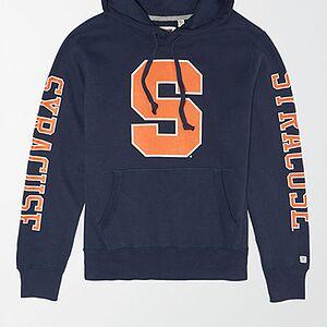 Tailgate Men's Syracuse Orange Fleece Hoodie Blue S