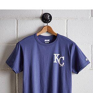 Tailgate Men's Kansas City Royals Graphic T-Shirt Royal Blue L