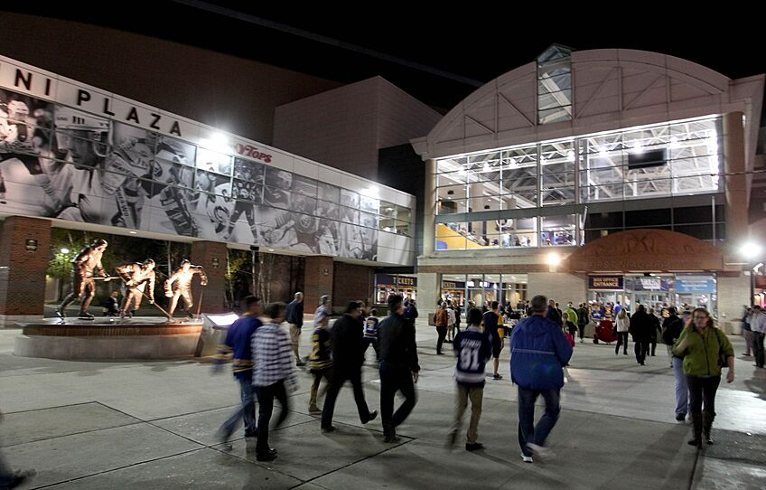 Buffalo Sabres To Play At KeyBank Center - First shopping center in usa