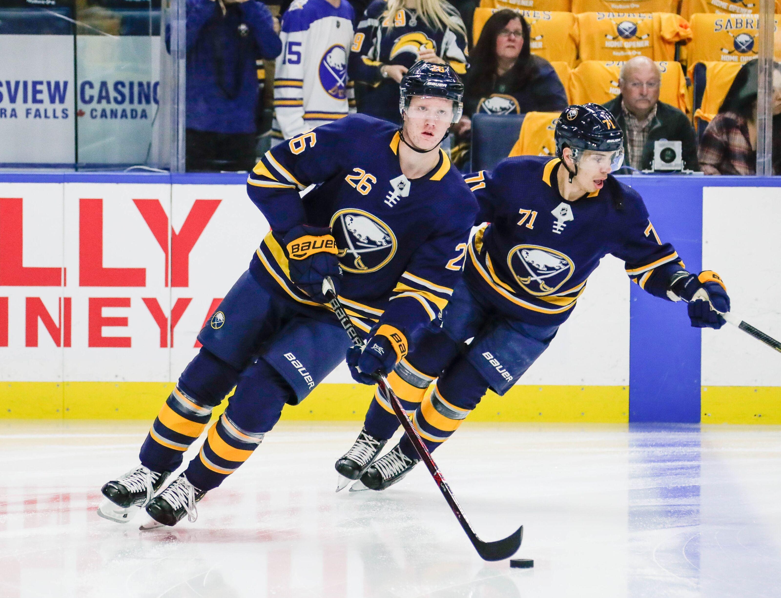 Buffalo Sabres: Saturday night hockey against the Rangers