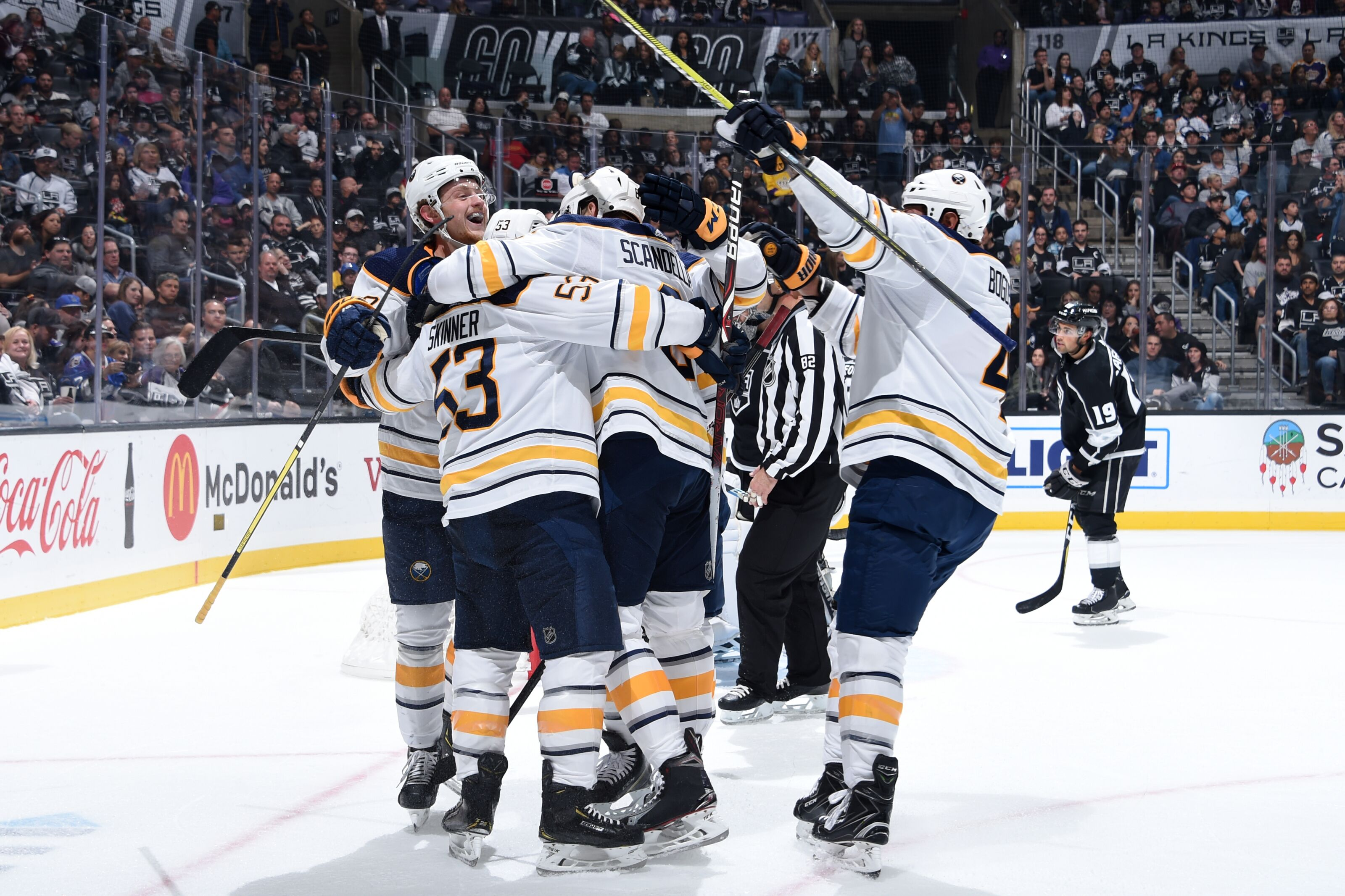 Buffalo Sabres Topple Kings With A Hat Trick From Jeff Skinner