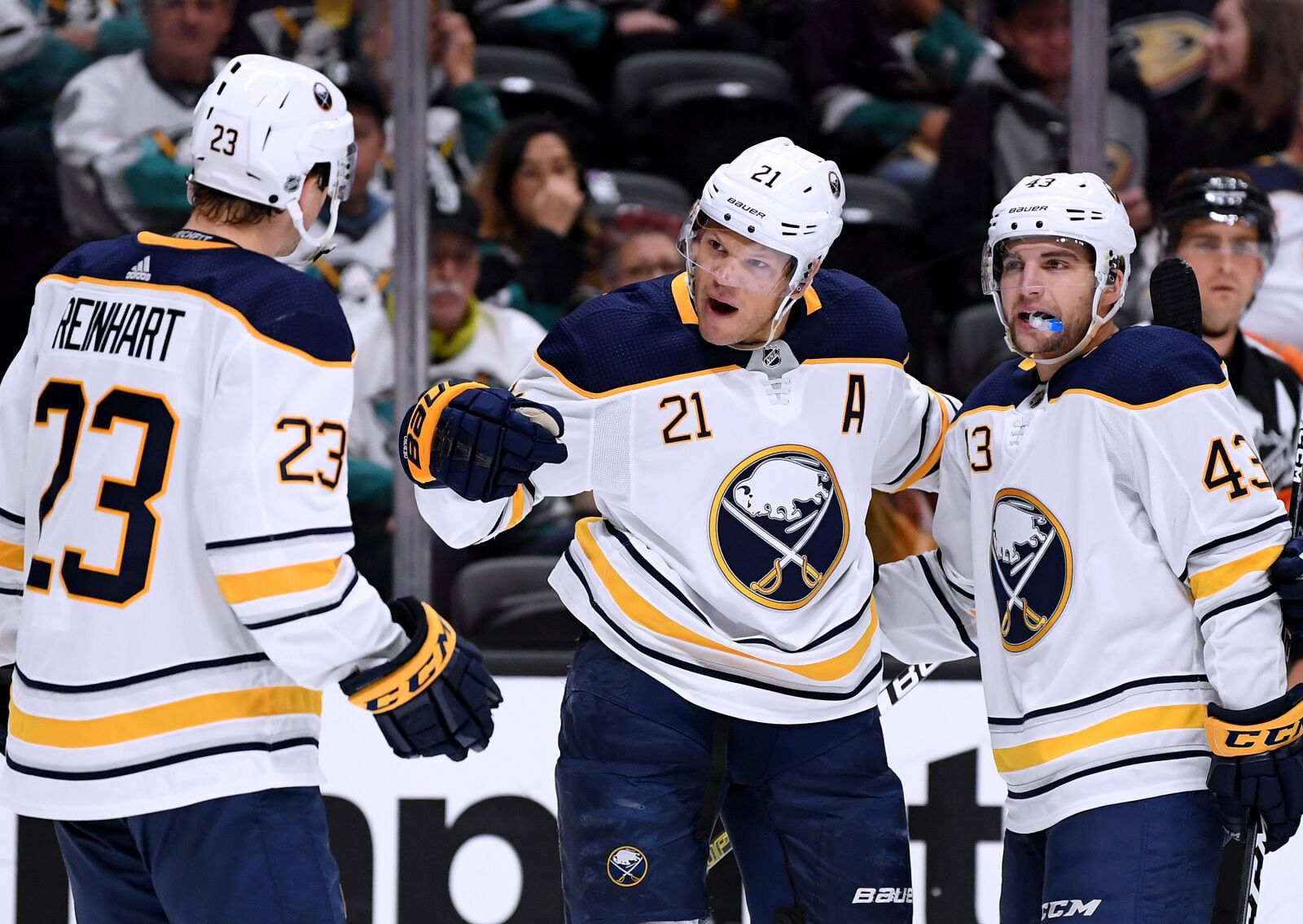 Buffalo Sabres Complete Comeback Win Against The Ducks