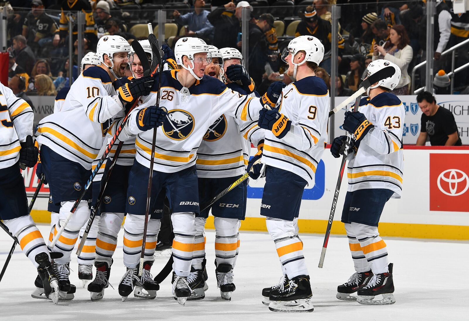 best service 299f2 76866 Buffalo Sabres return home trying to win their 7th in a row