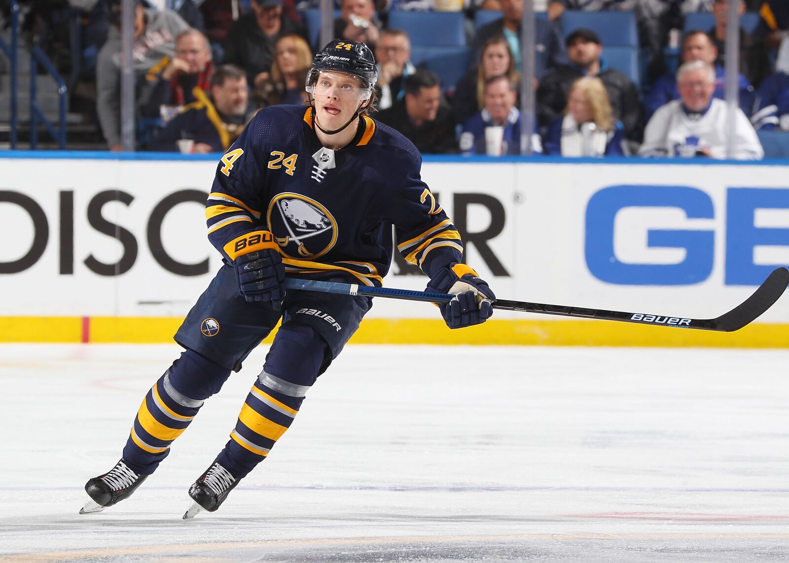 Buffalo Sabres: Lawrence Pilut Returns to Action