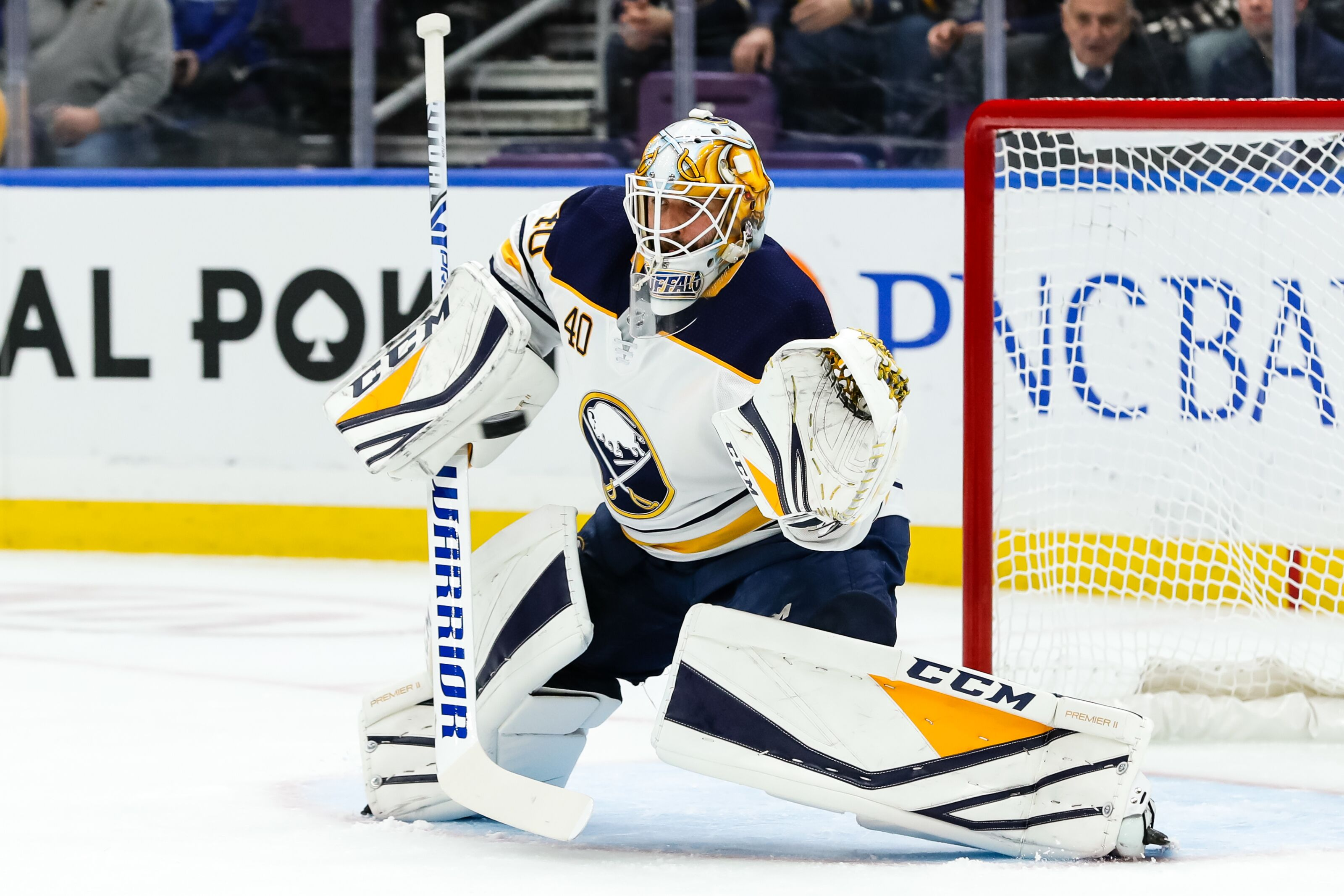 Buffalo Sabres: Carter Hutton Breaks Sabres Record