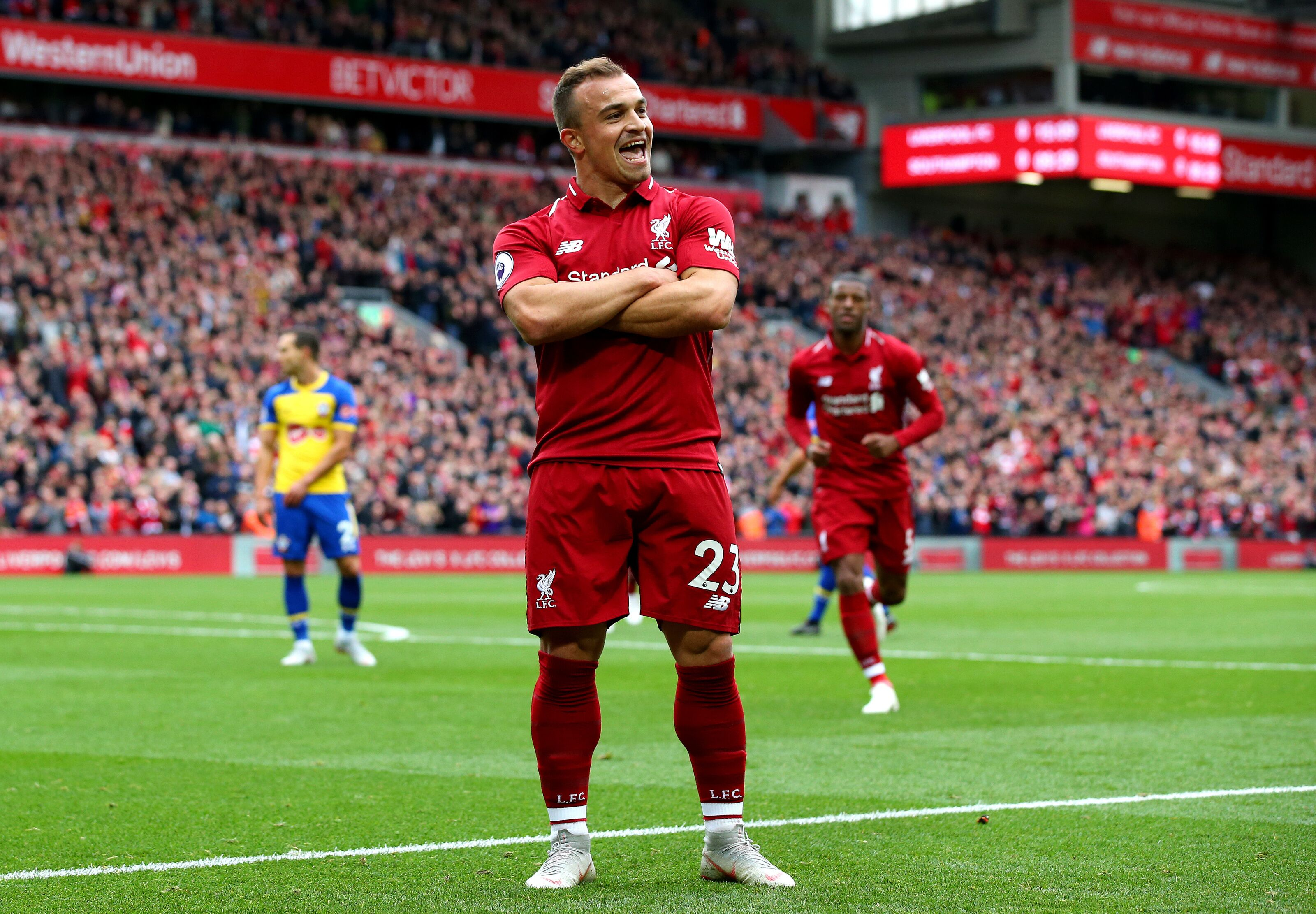 Liverpool 3-0 Southampton: Saints thrashed at Anfield by impressive Reds